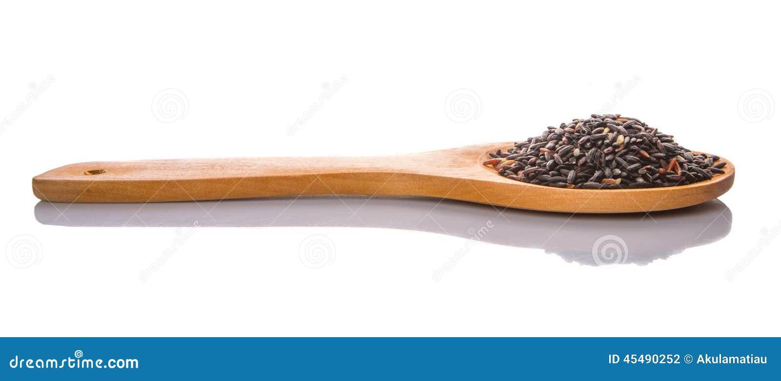 在木匙子IV的黑糯米
