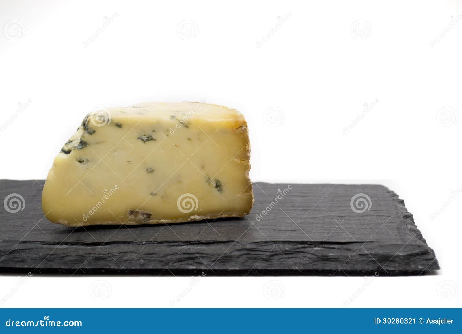 在板岩板的乳酪