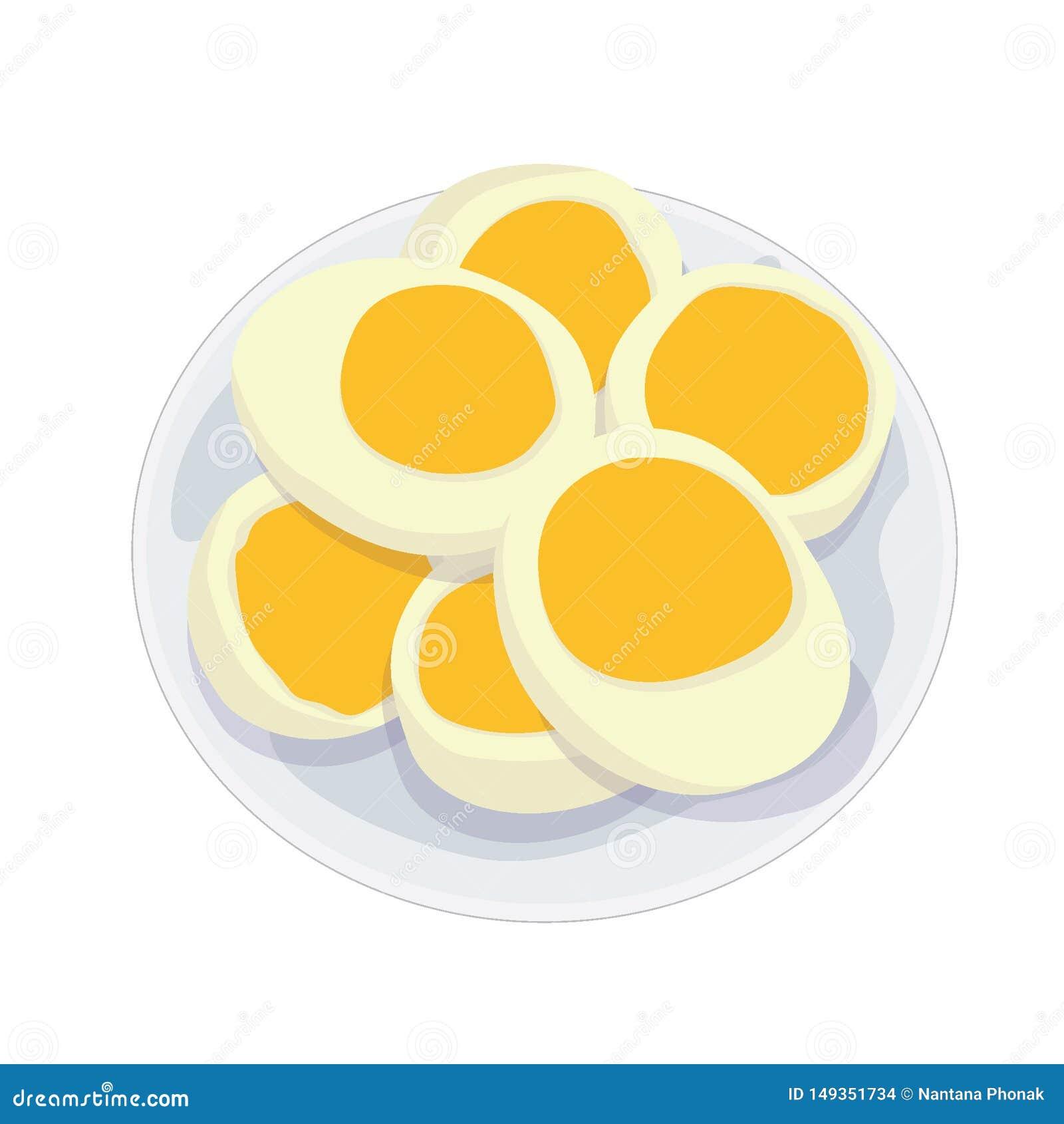 在板材的熟蛋