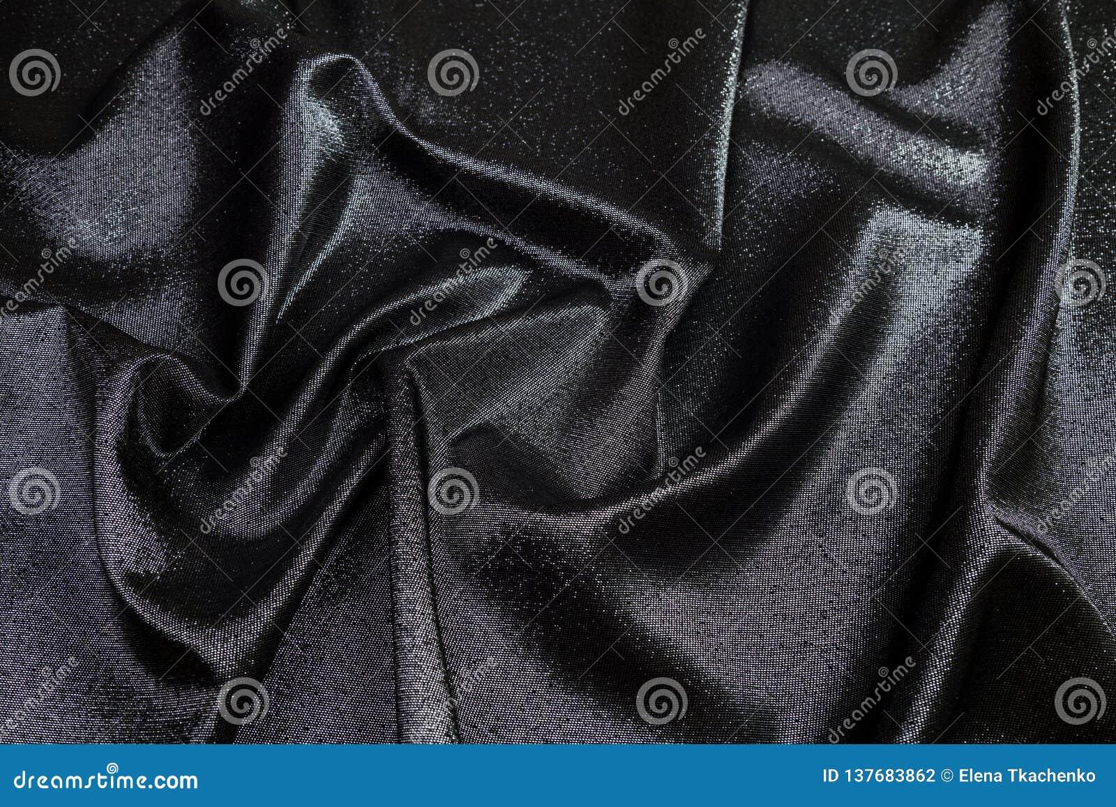 在桌折叠的锦织品