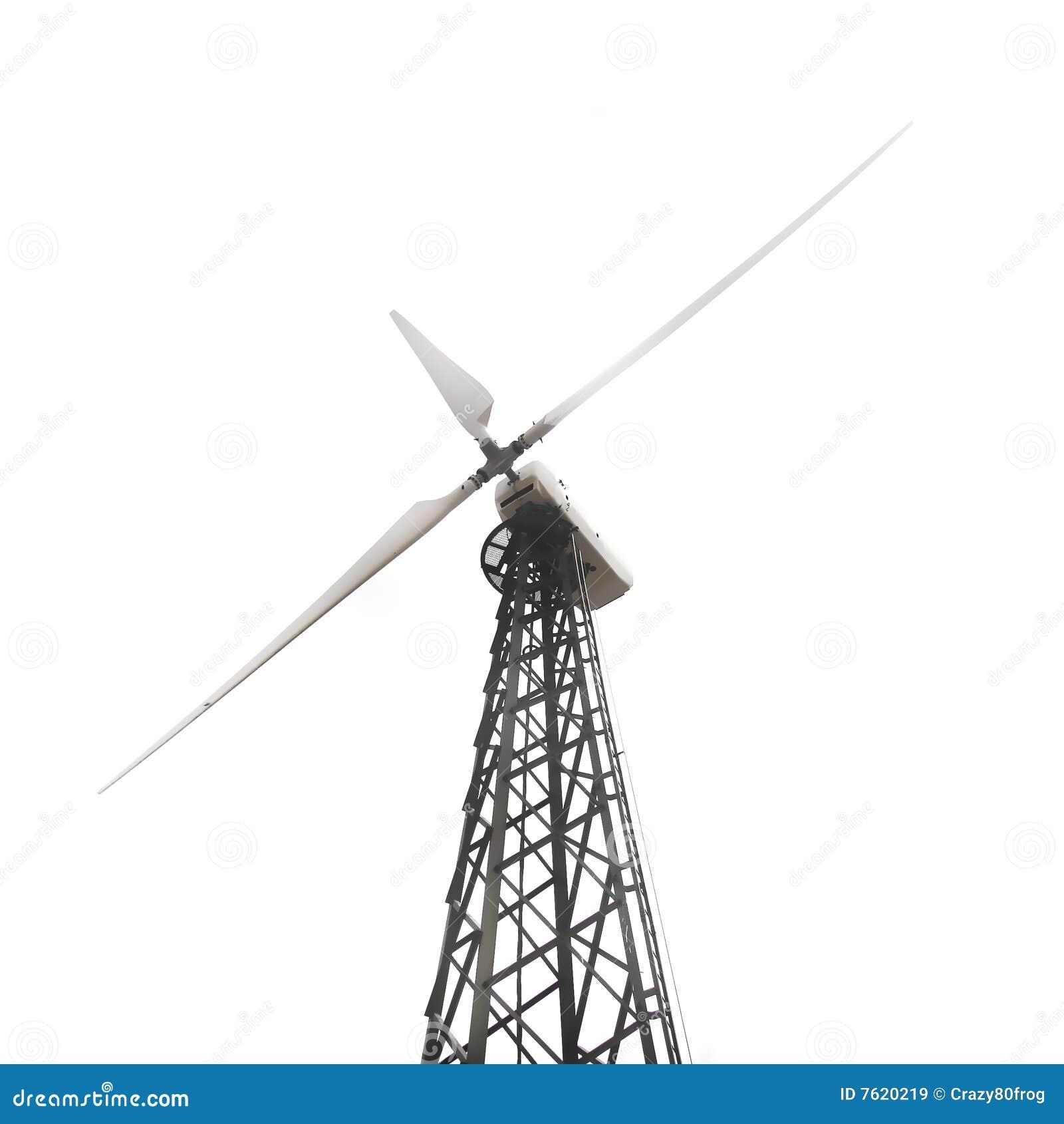 在涡轮白色风