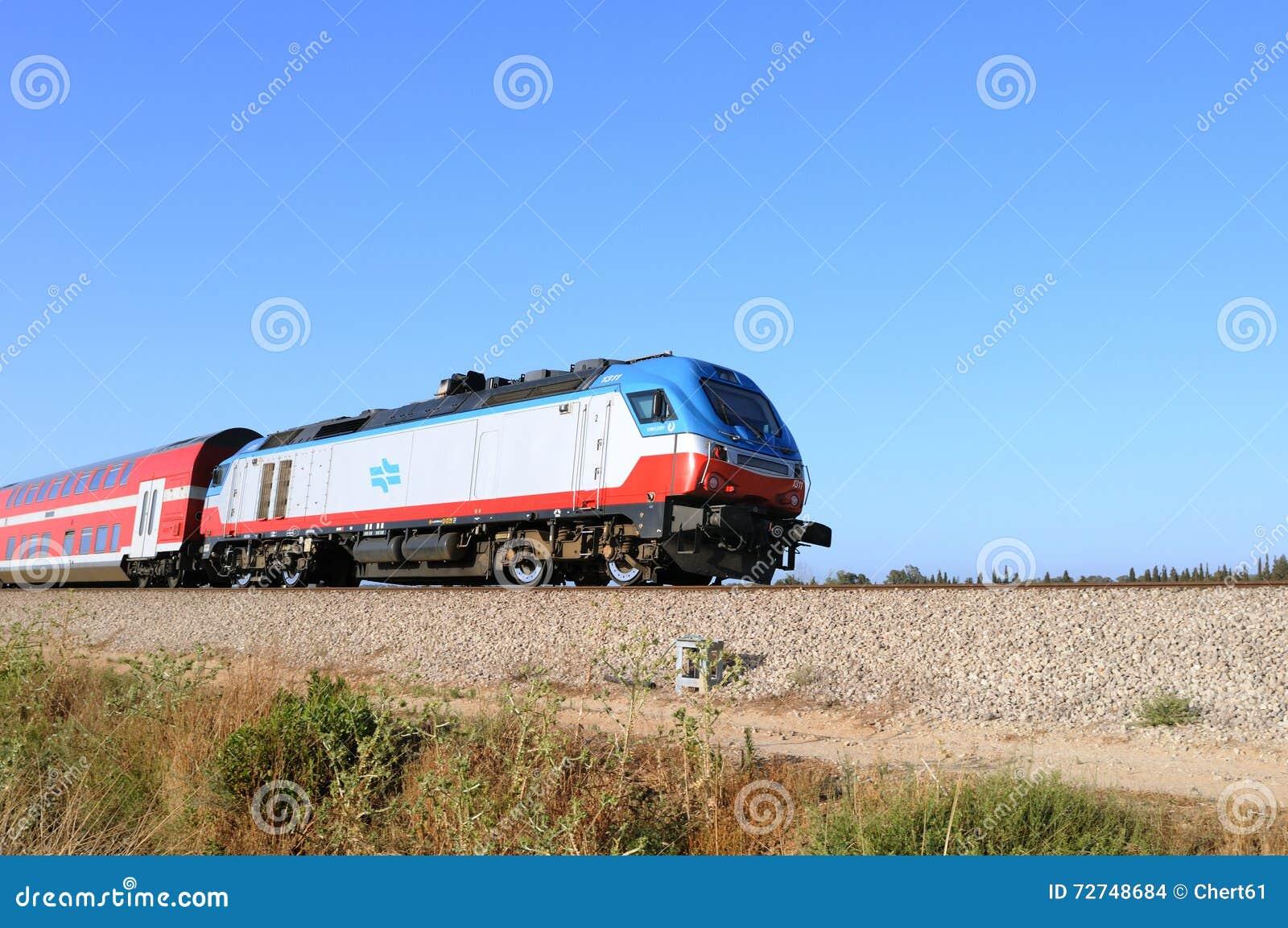 在溃败亚实基伦阿什杜德的火车 以色列