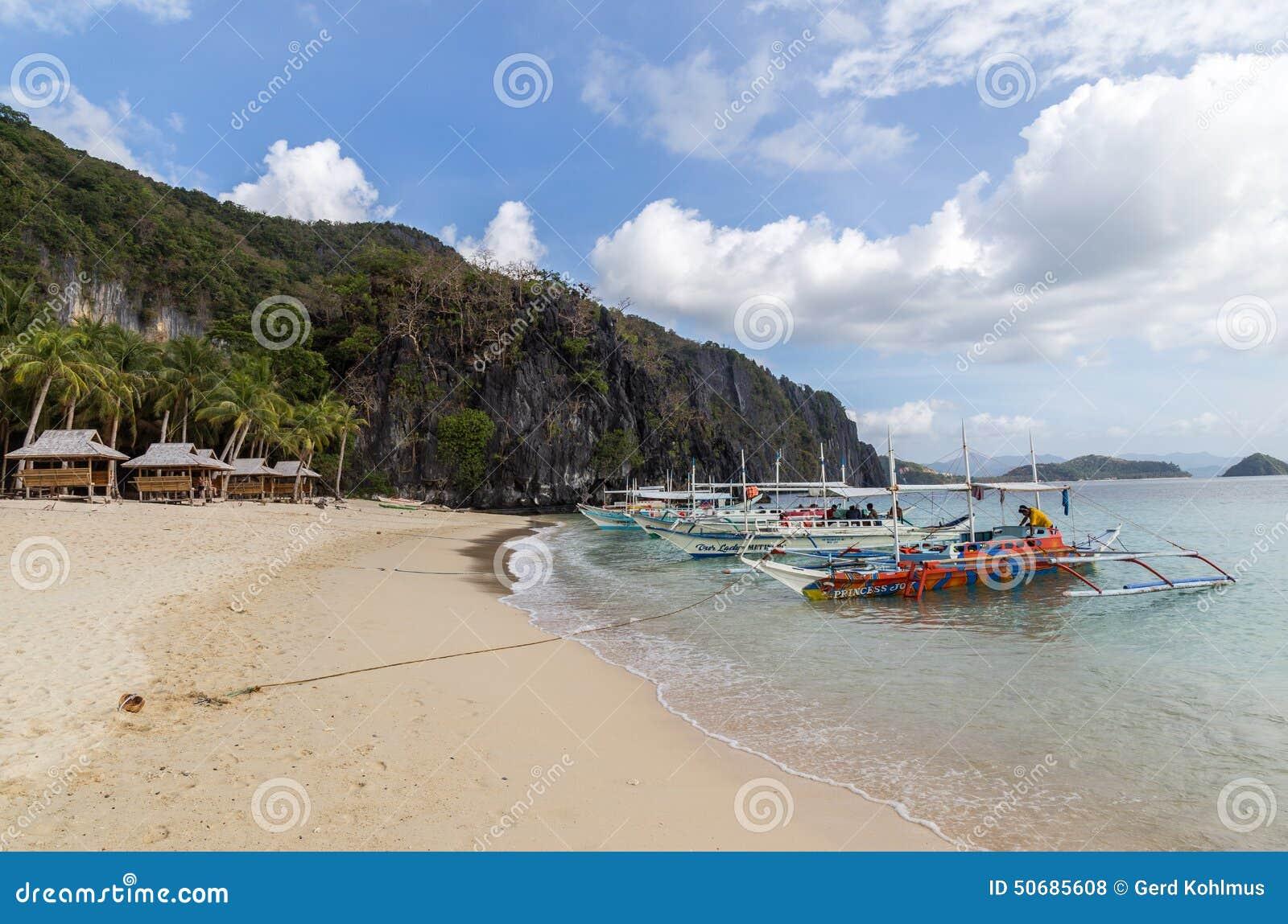 Download 在热带海滩的游览小船 编辑类库存照片. 图片 包括有 潜航, 游人, 沙子, 特攻队, 游泳, 小屋, 等待 - 50685608