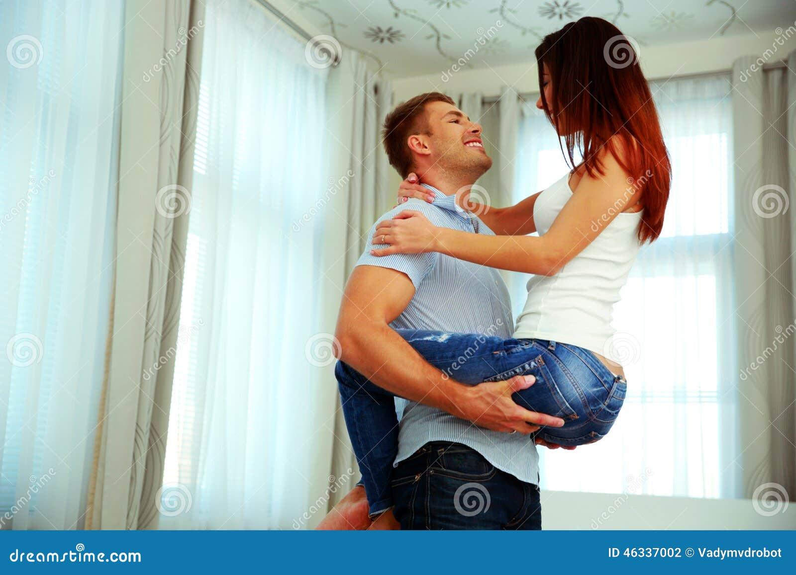在热情的容忍的夫妇