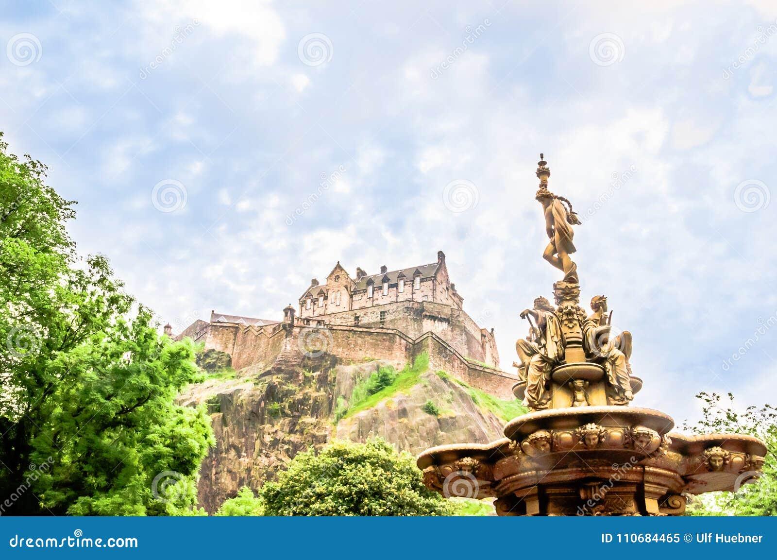 在爱丁堡城堡的看法