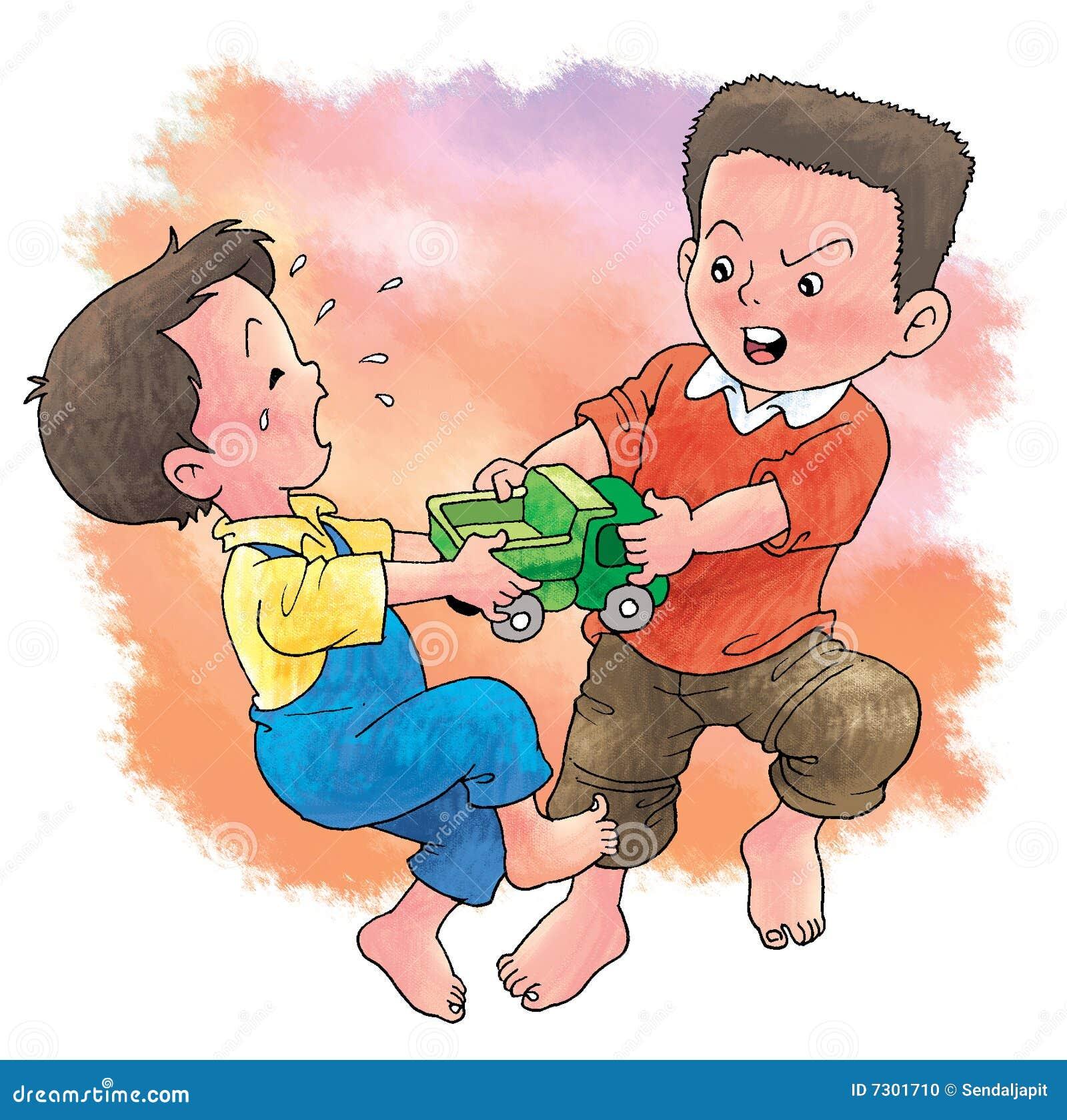 在玩具的战斗