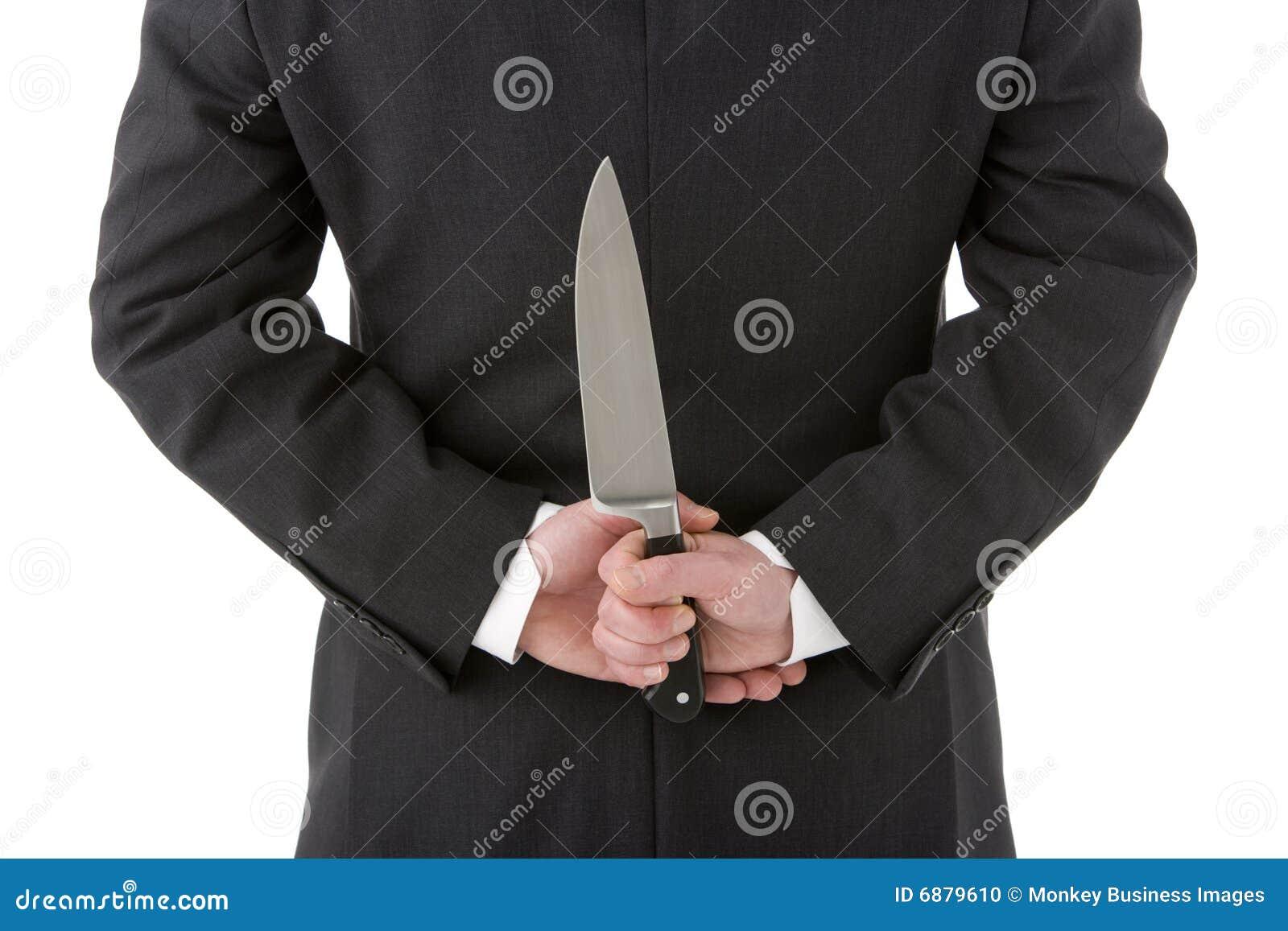 在生意人之后他的藏品刀子