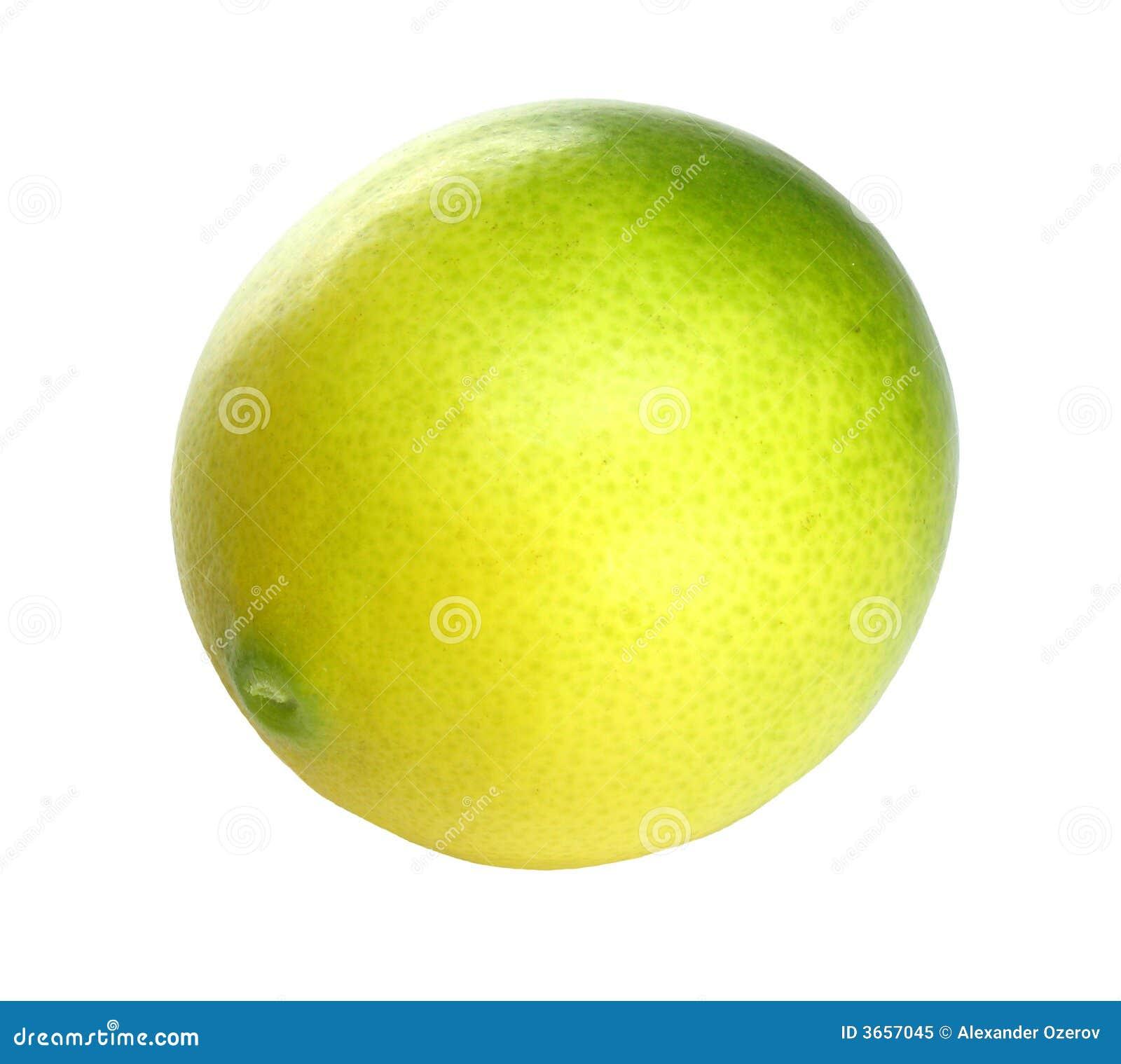在白色的柑橘