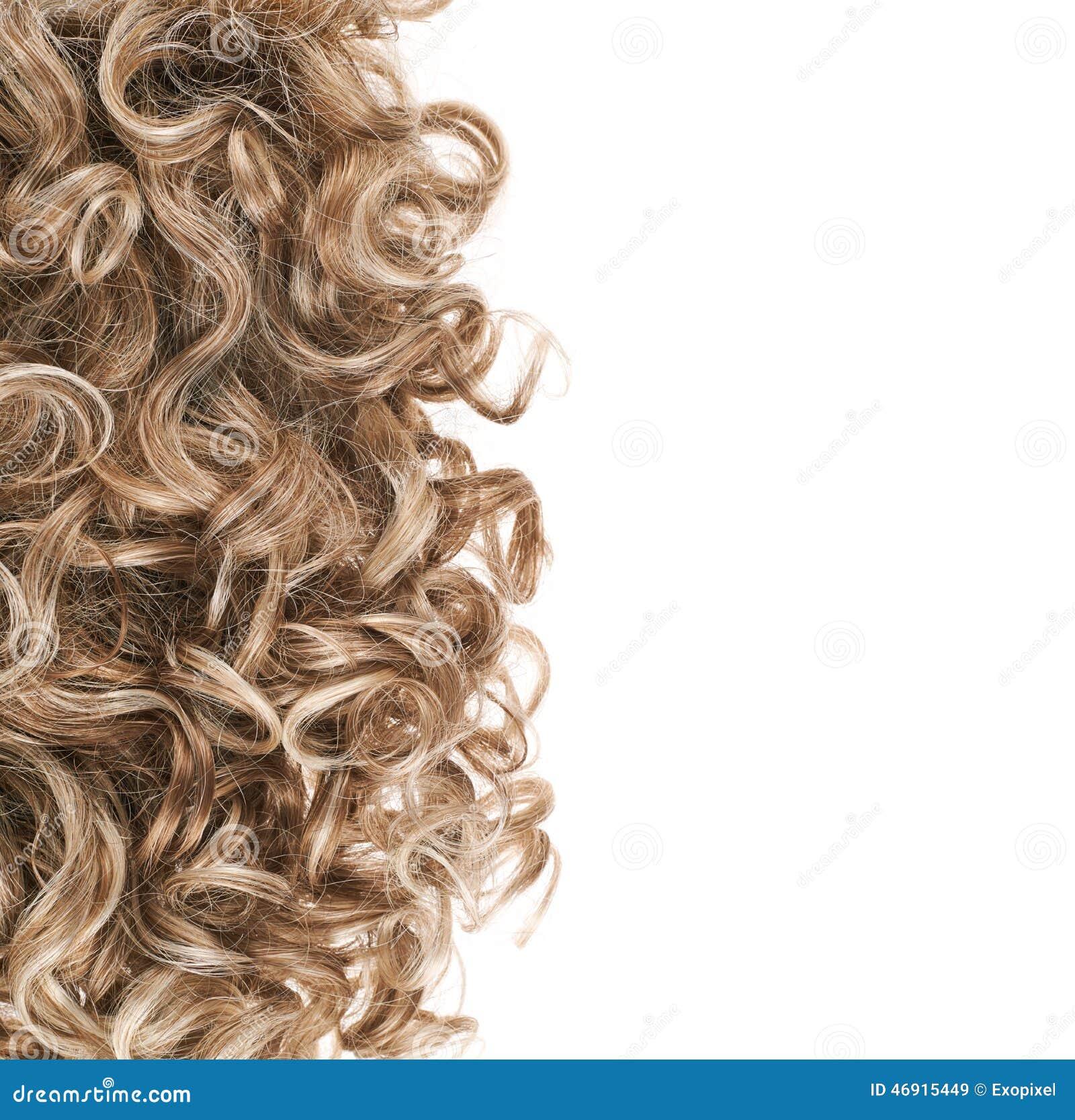 在白色的头发片段图片