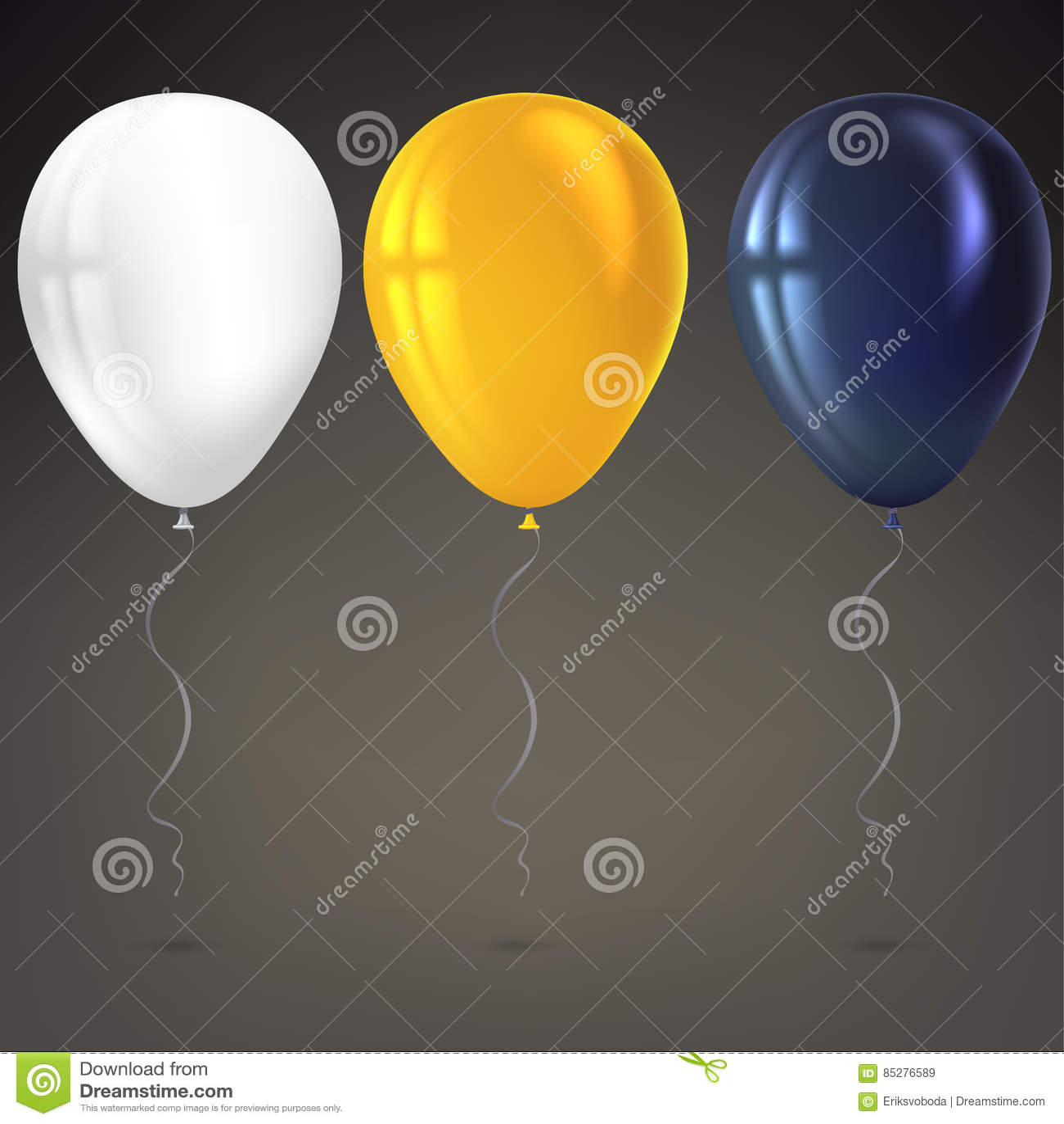 在白色背景的可膨胀的空气飞行气球