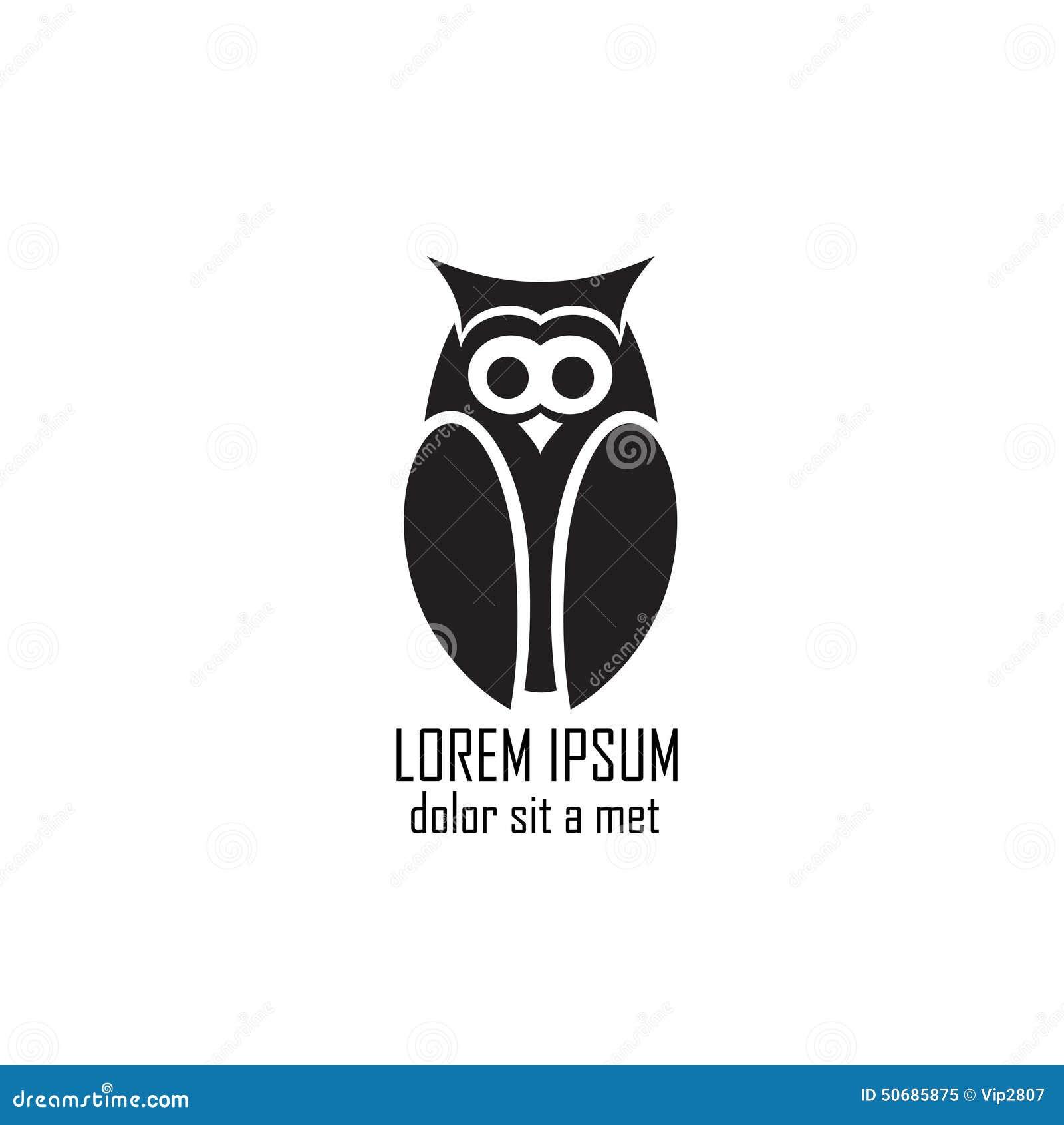 Download 在白色背景的风格化猫头鹰 向量例证. 插画 包括有 艺术, 双翼飞机, 搜索, 看板卡, 飞行, 标签, 动画片 - 50685875