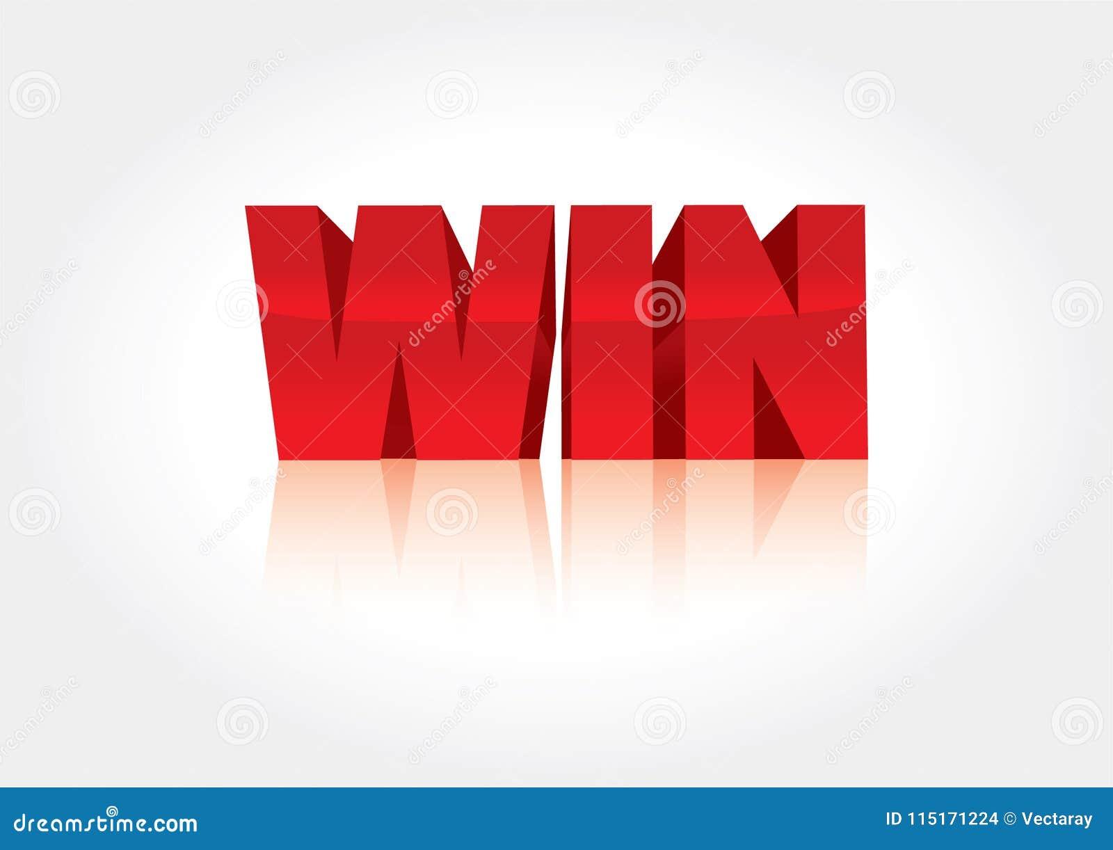 在白色背景隔绝的红色胜利横幅 理想为在竞争横幅和传单的使用