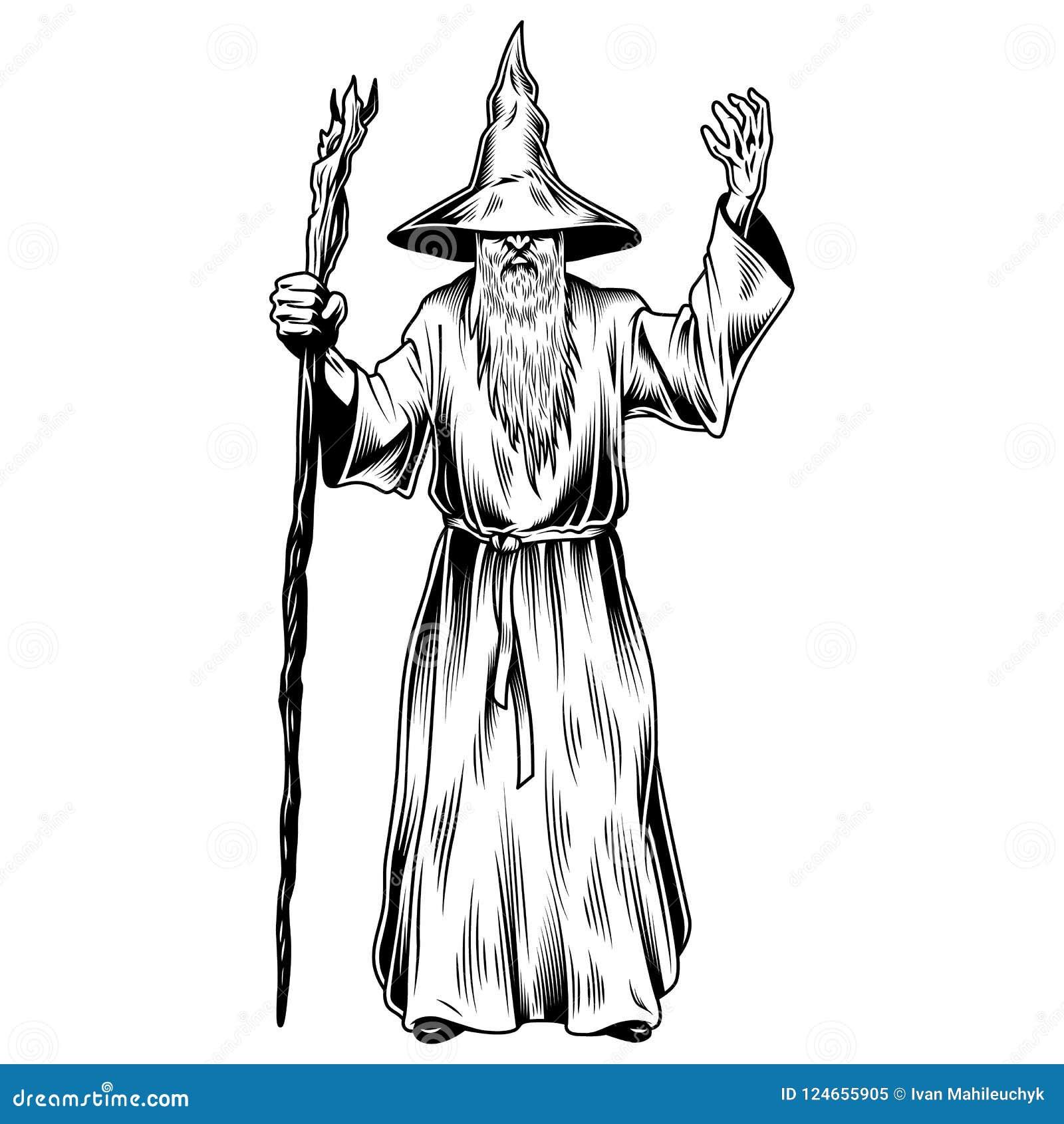 在白色隔绝的幻想巫术师