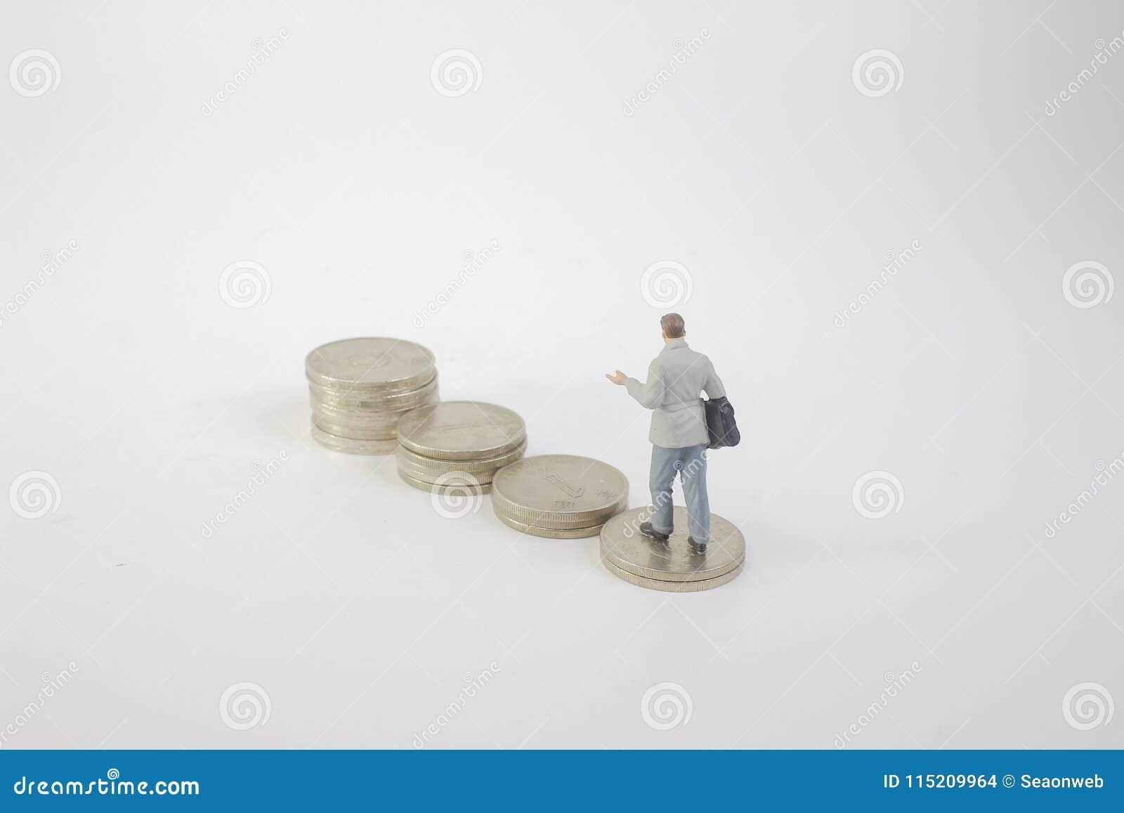 在硬币的微型企业形象立场