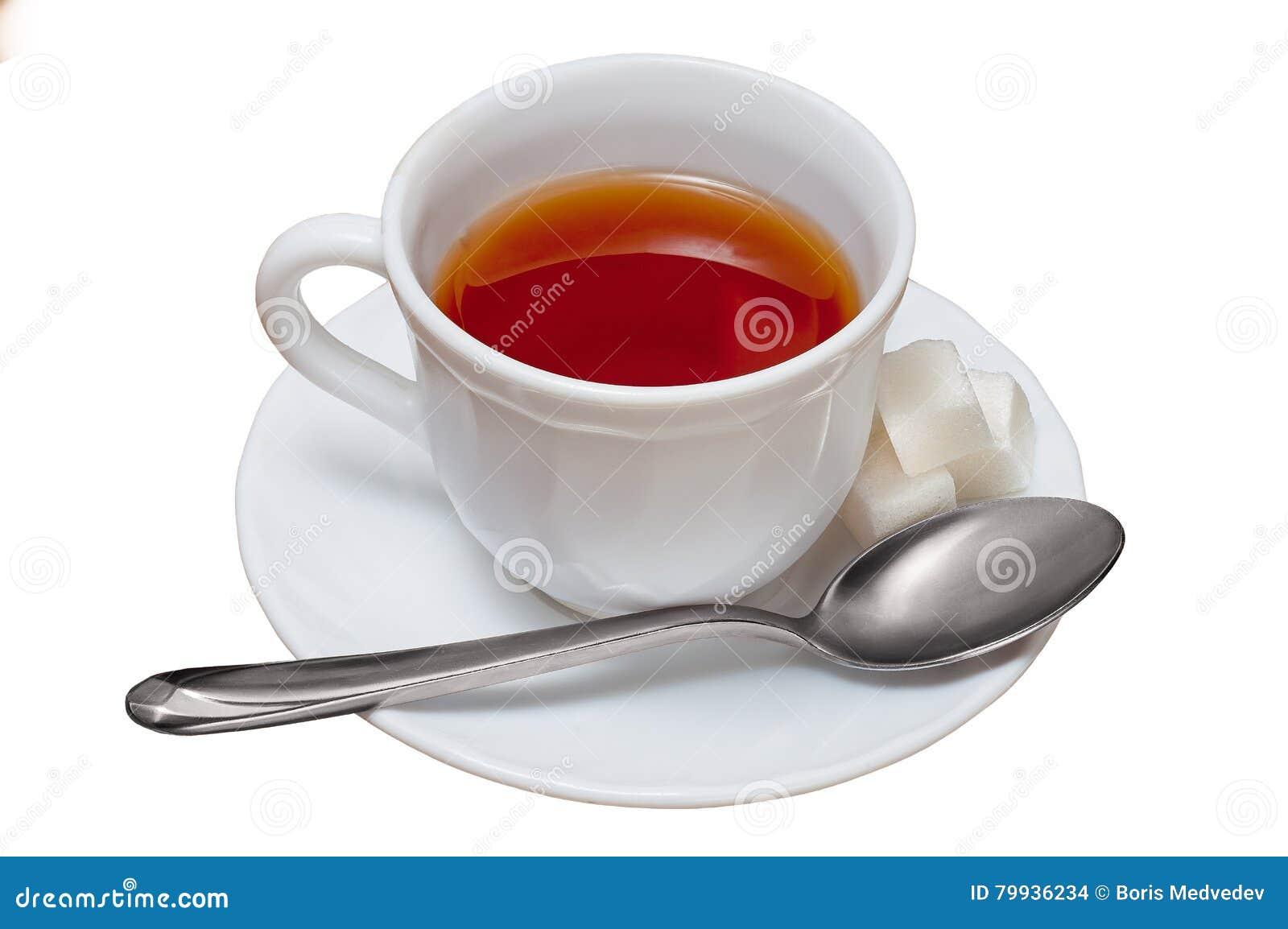 在空白背景查出的茶