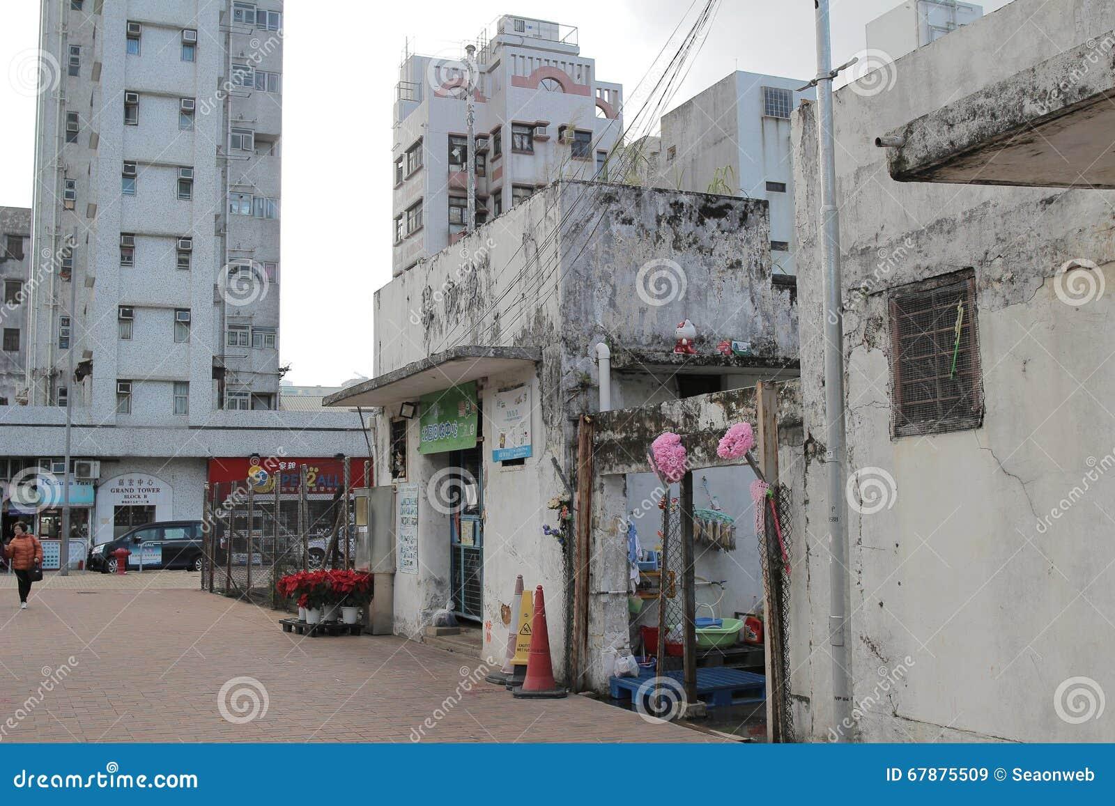 在粉岭的老Luen Wo惠山市场