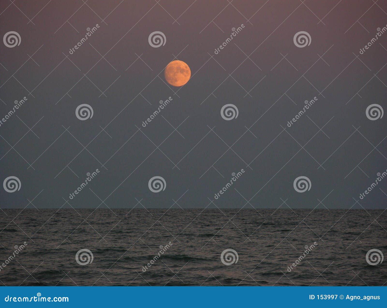在红海的月亮