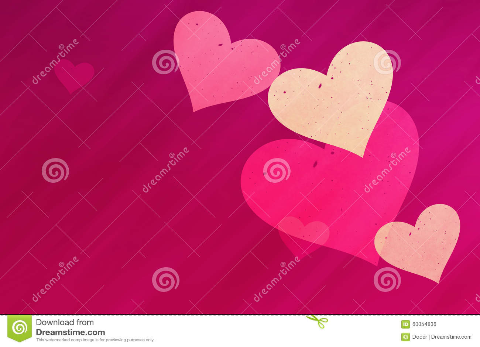 在红色的梦想的轻的心脏发出光线与拷贝空间的背景图片
