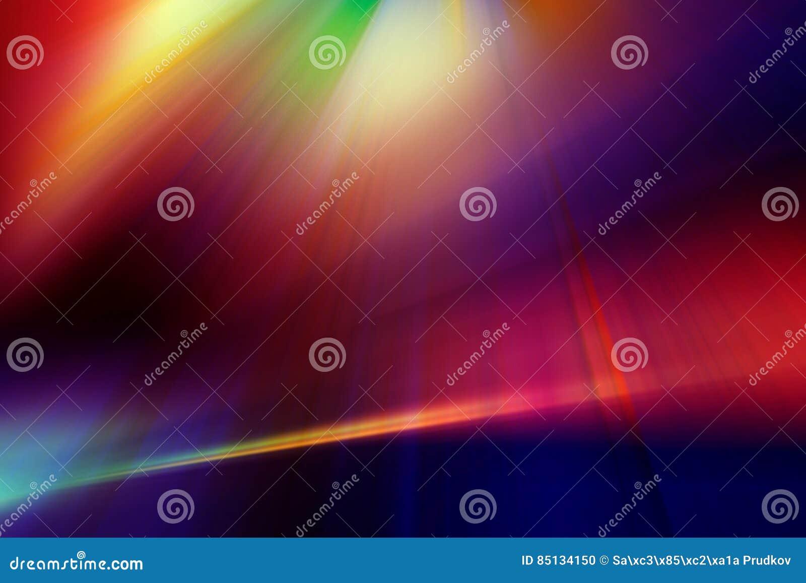 在红色,蓝色,紫色和黄色颜色的抽象背景