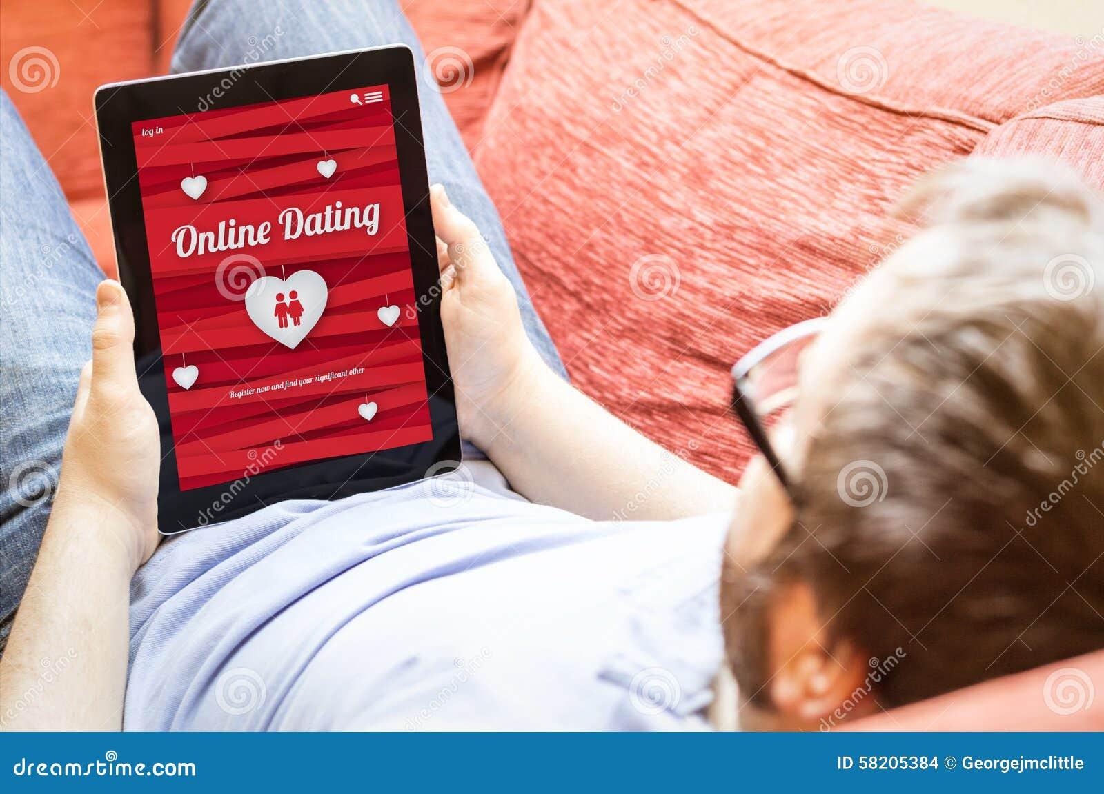 在网上约会的行家