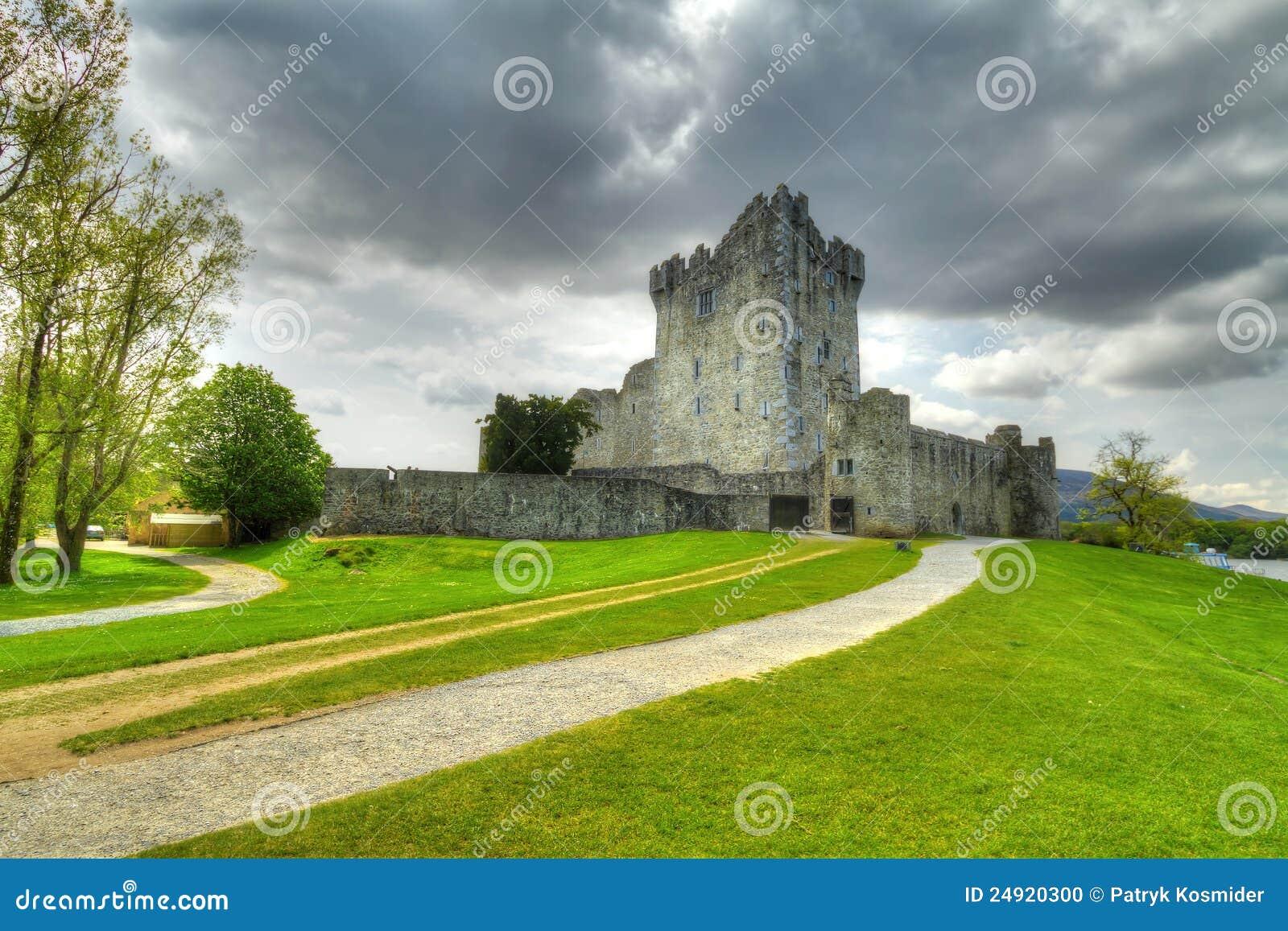 在罗斯附近的城堡co凯利killarney