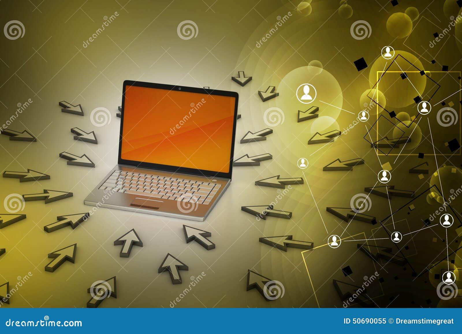 Download 在老鼠点附近的膝上型计算机 库存图片. 图片 包括有 计算机, 屏幕, 连结, 电子, 陈列, 数字式, 游标 - 50690055