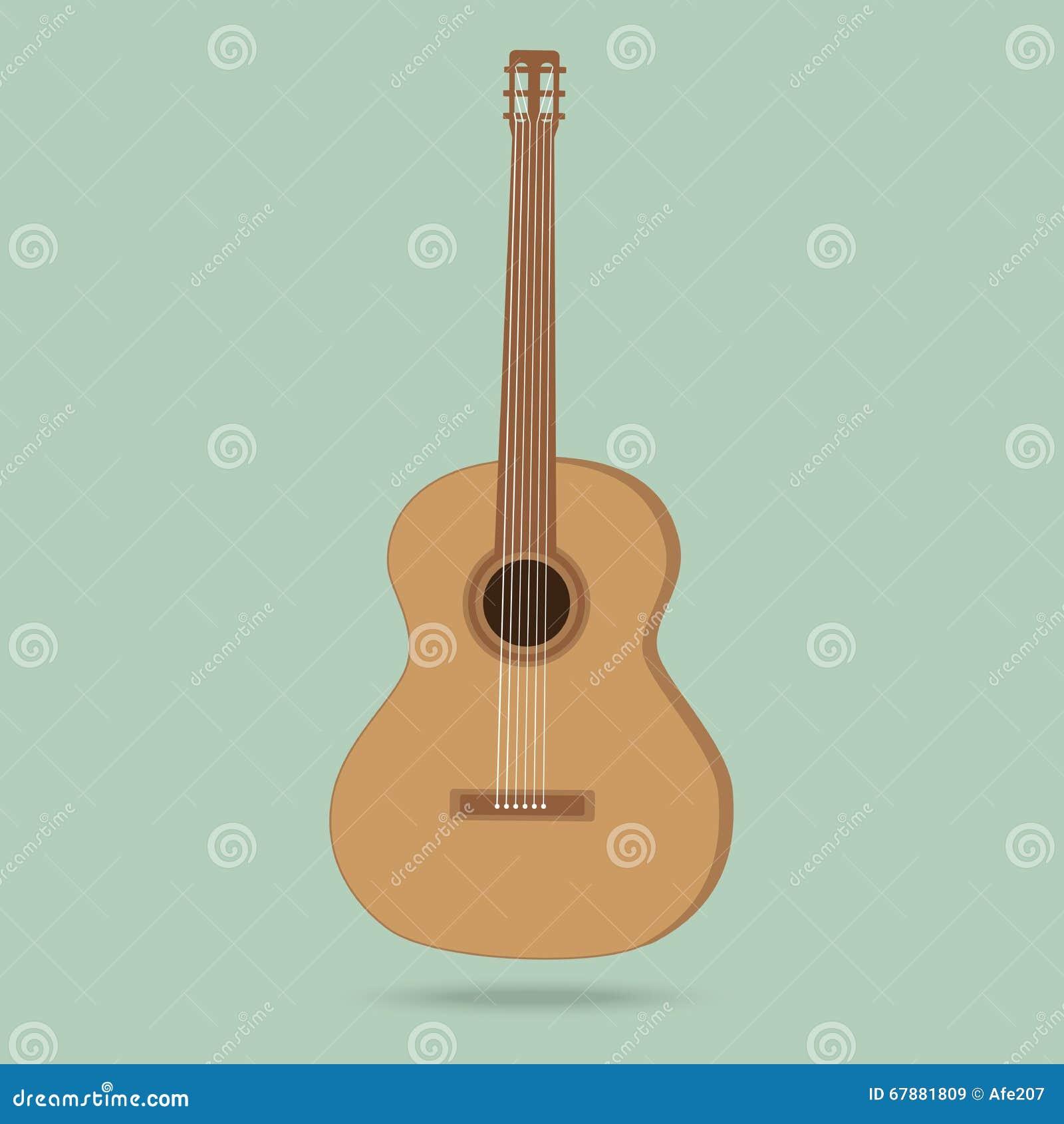 在背景在销售中的吉他隔绝的