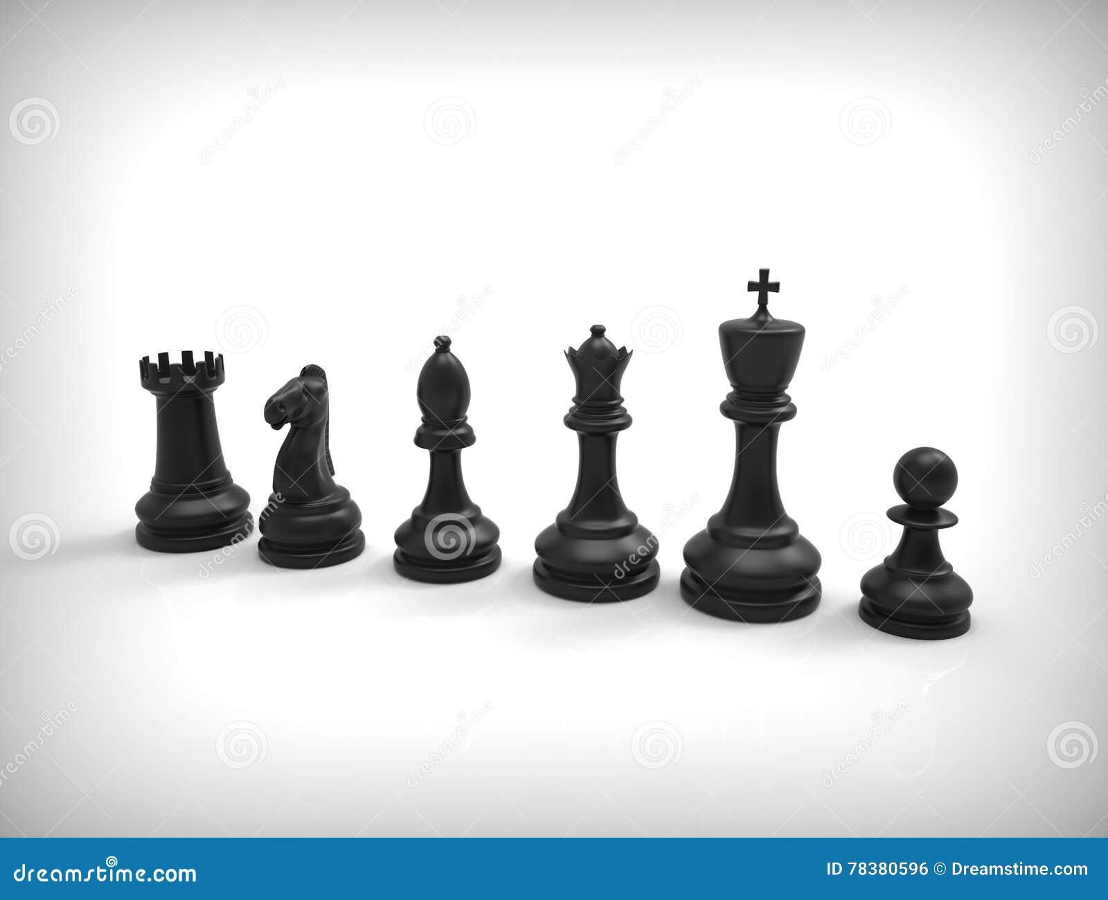 在背景的黑棋子