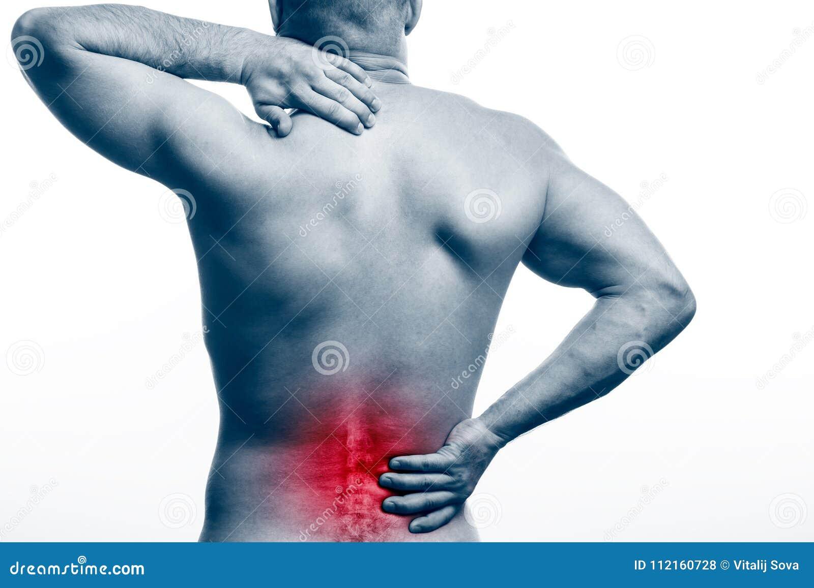 在脊椎的痛苦