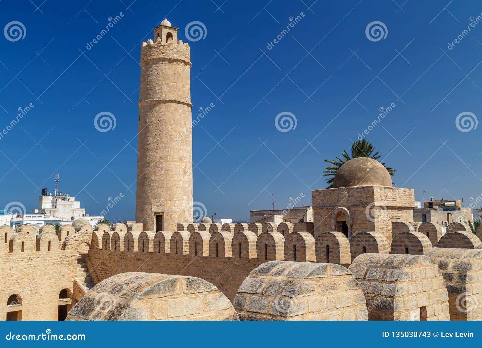 在苏斯里面中世纪麦地那的里巴特堡垒