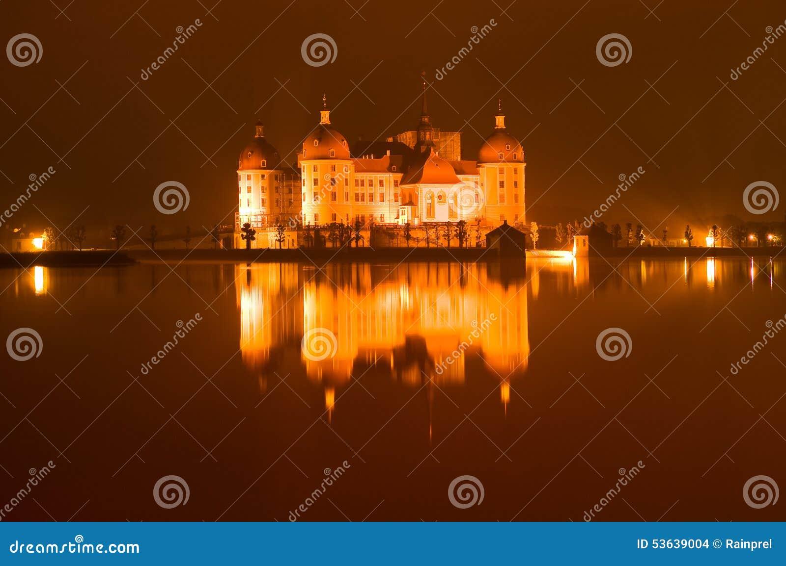 在莫里茨堡的城堡在德国