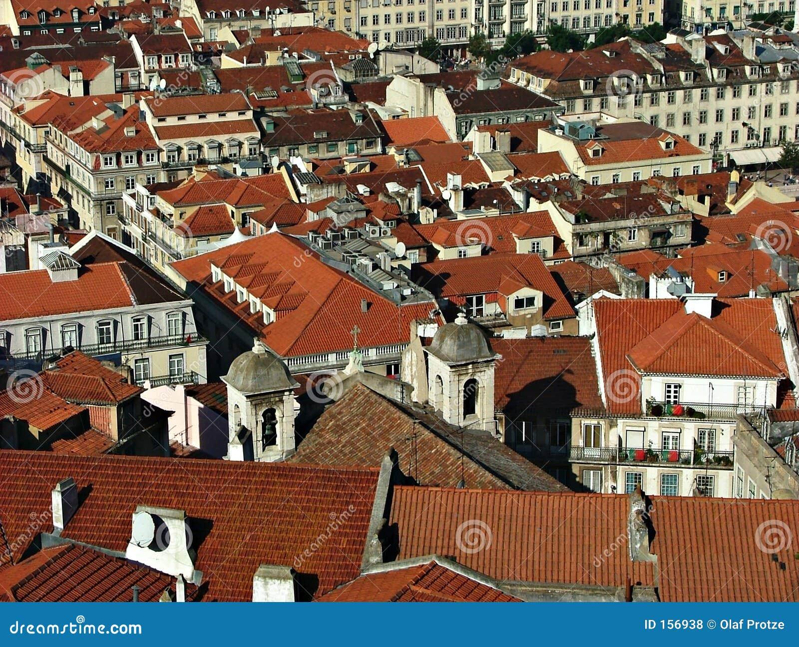 在葡萄牙视图的里斯本