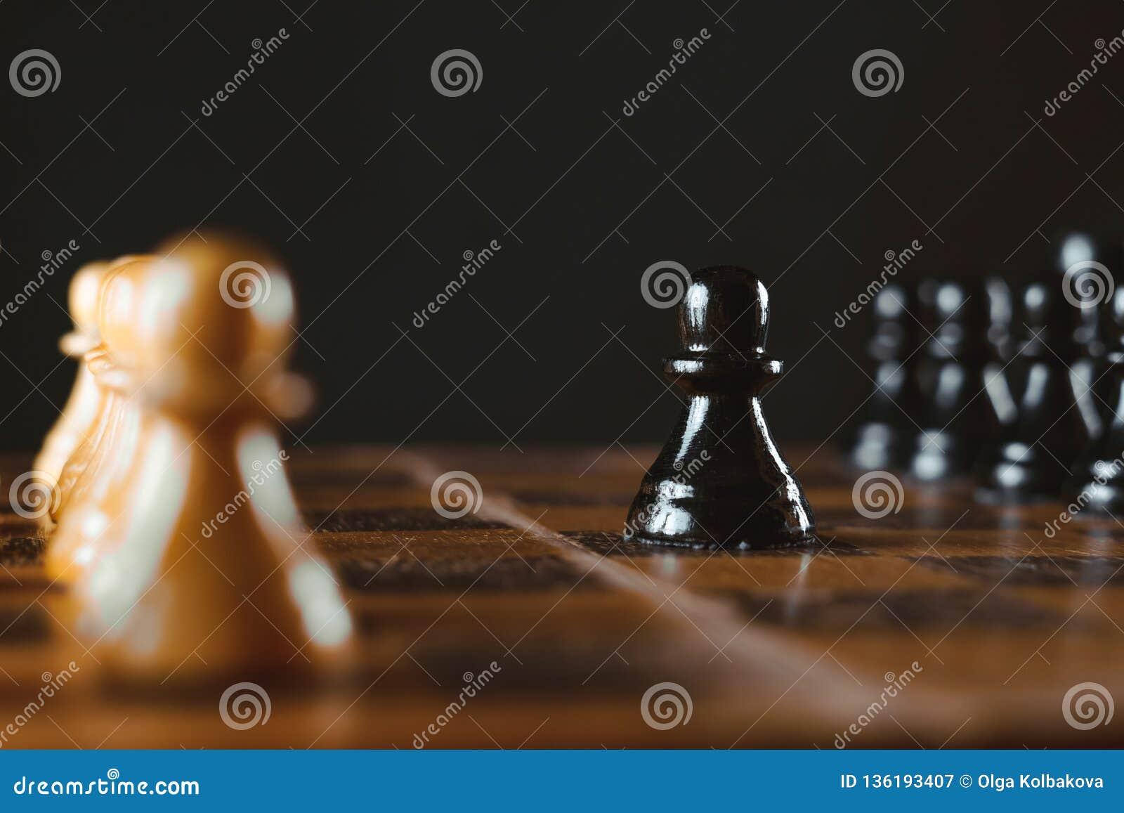 在董事会的棋子