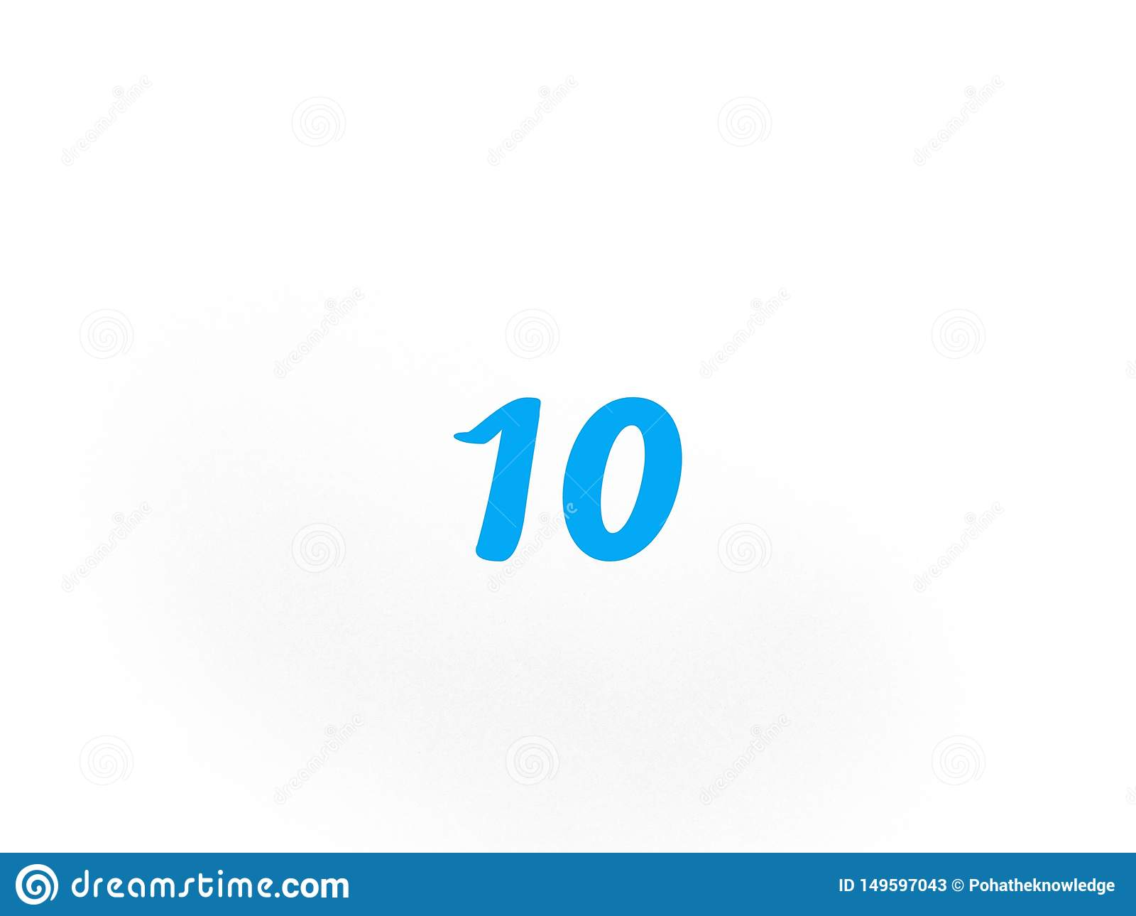 在蓝色的第十