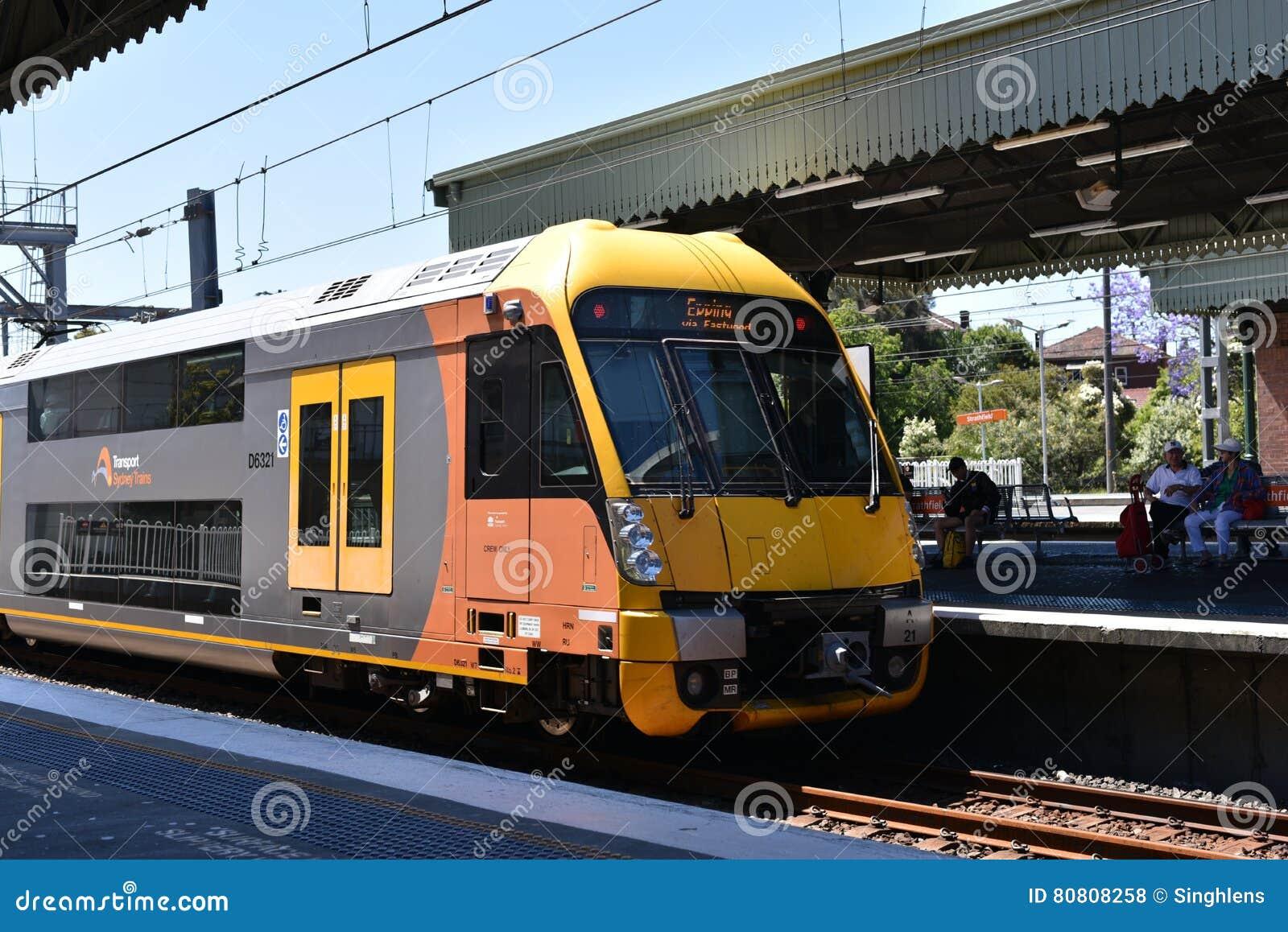 在行动,它的NSW悉尼火车是为悉尼,新南威尔斯,澳大利亚服务的郊区铁路网络