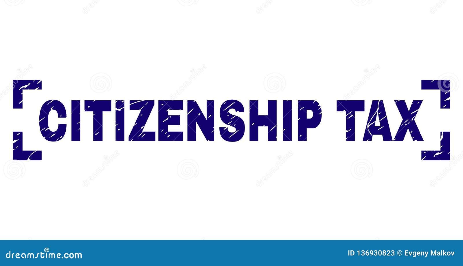 在角落之间的难看的东西织地不很细公民身份印花封印