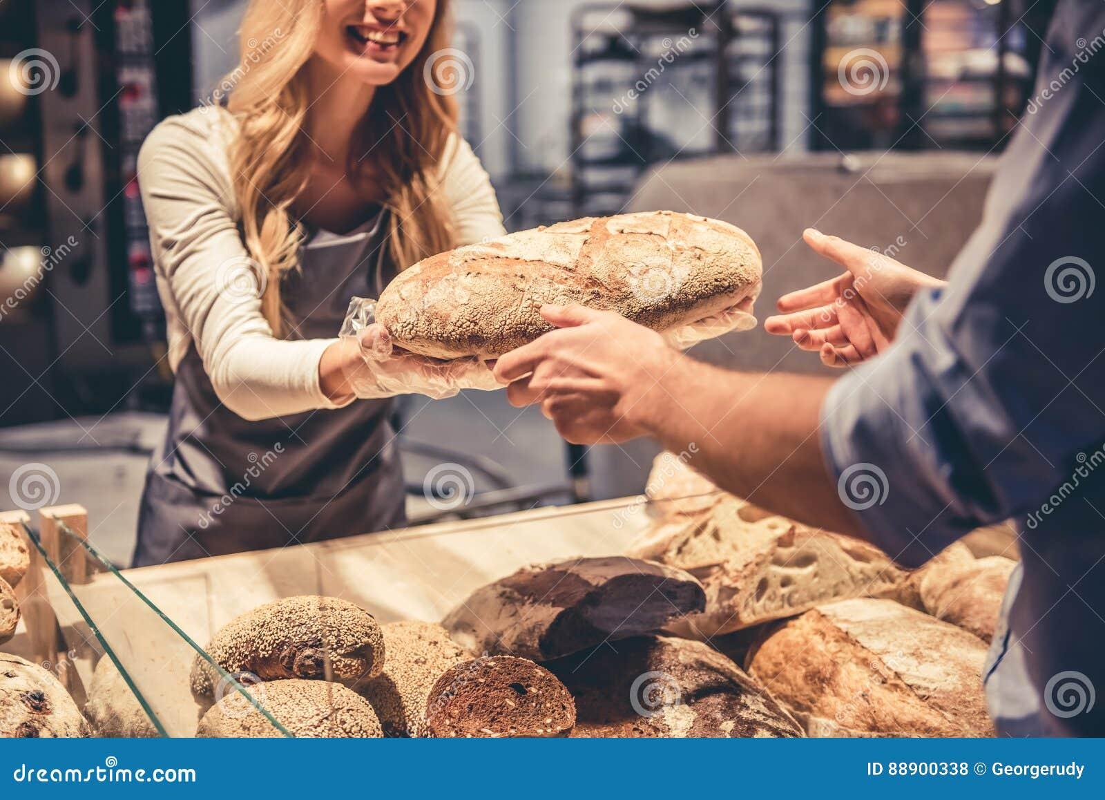 在超级市场