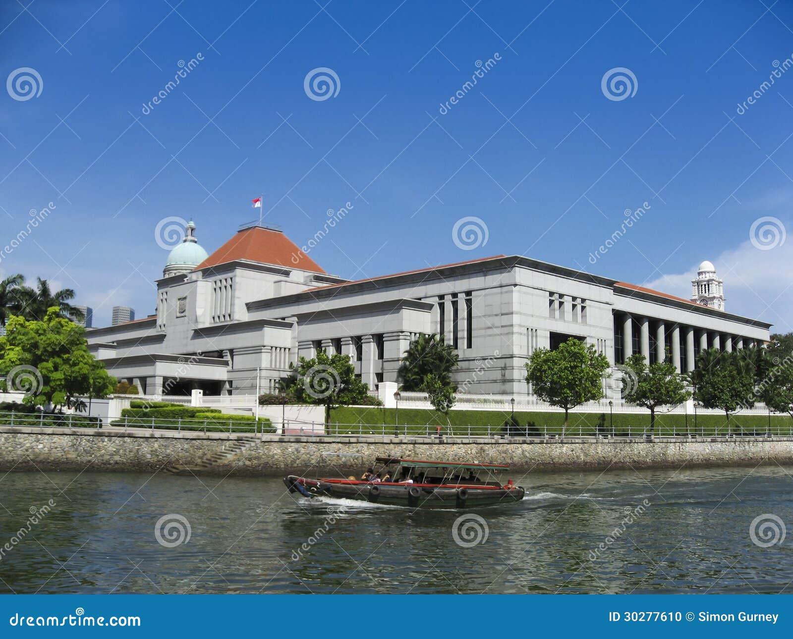 新加坡法院政府大厦