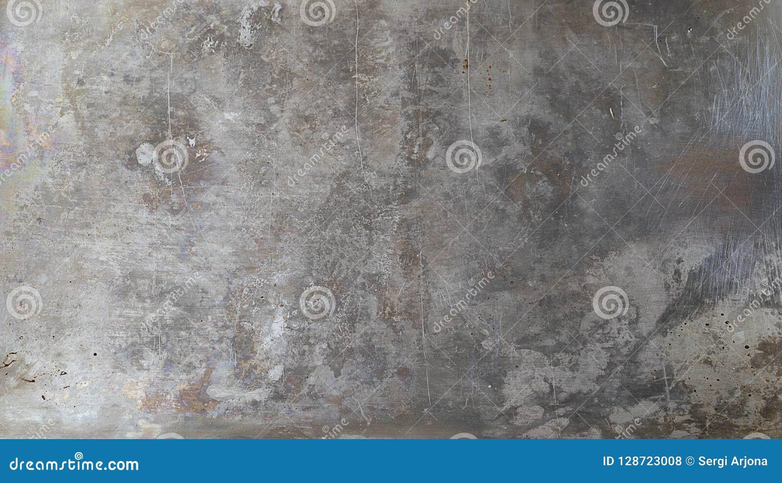 在难看的东西样式的灰色金属背景