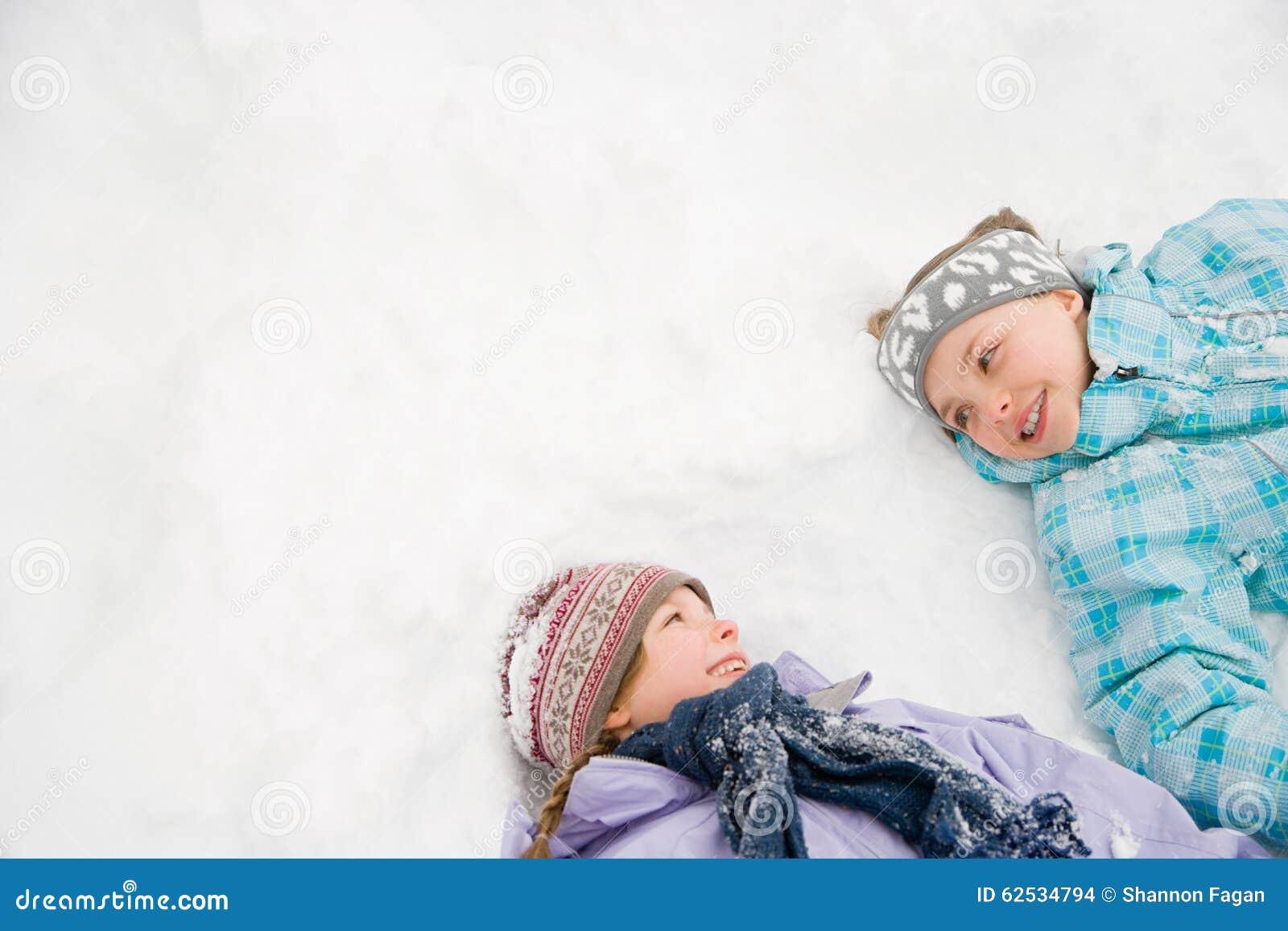 在雪的女孩