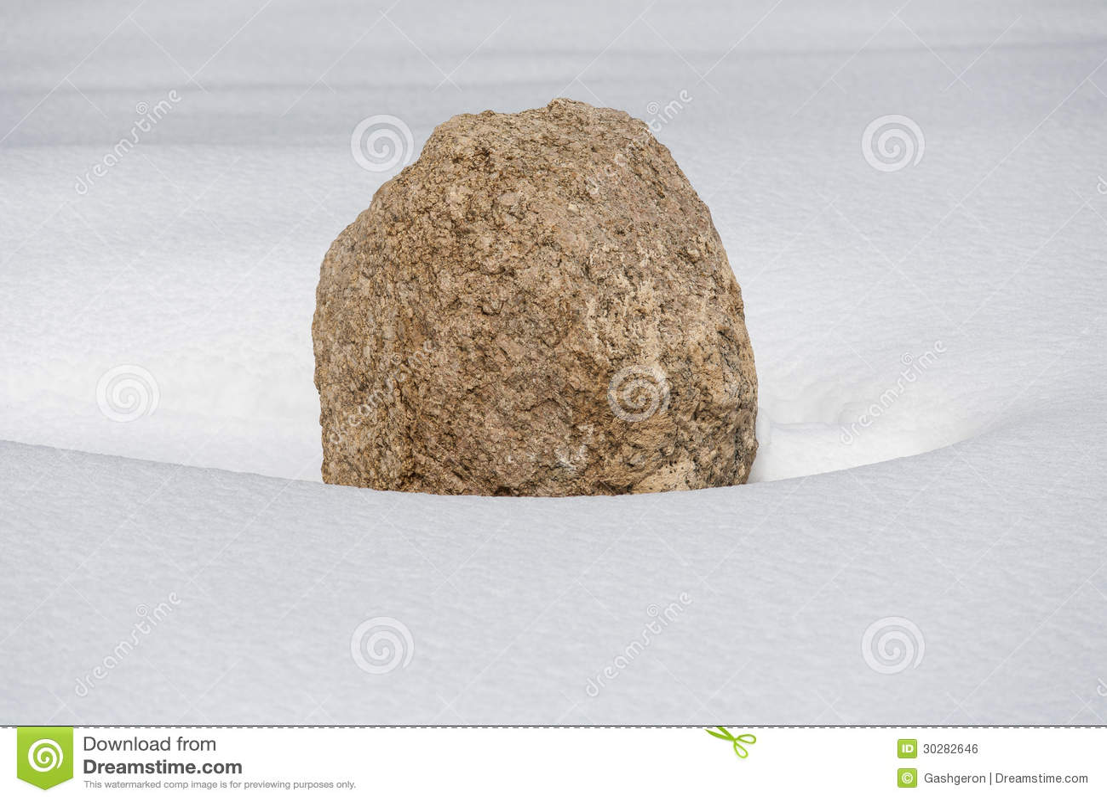 偏僻的石头