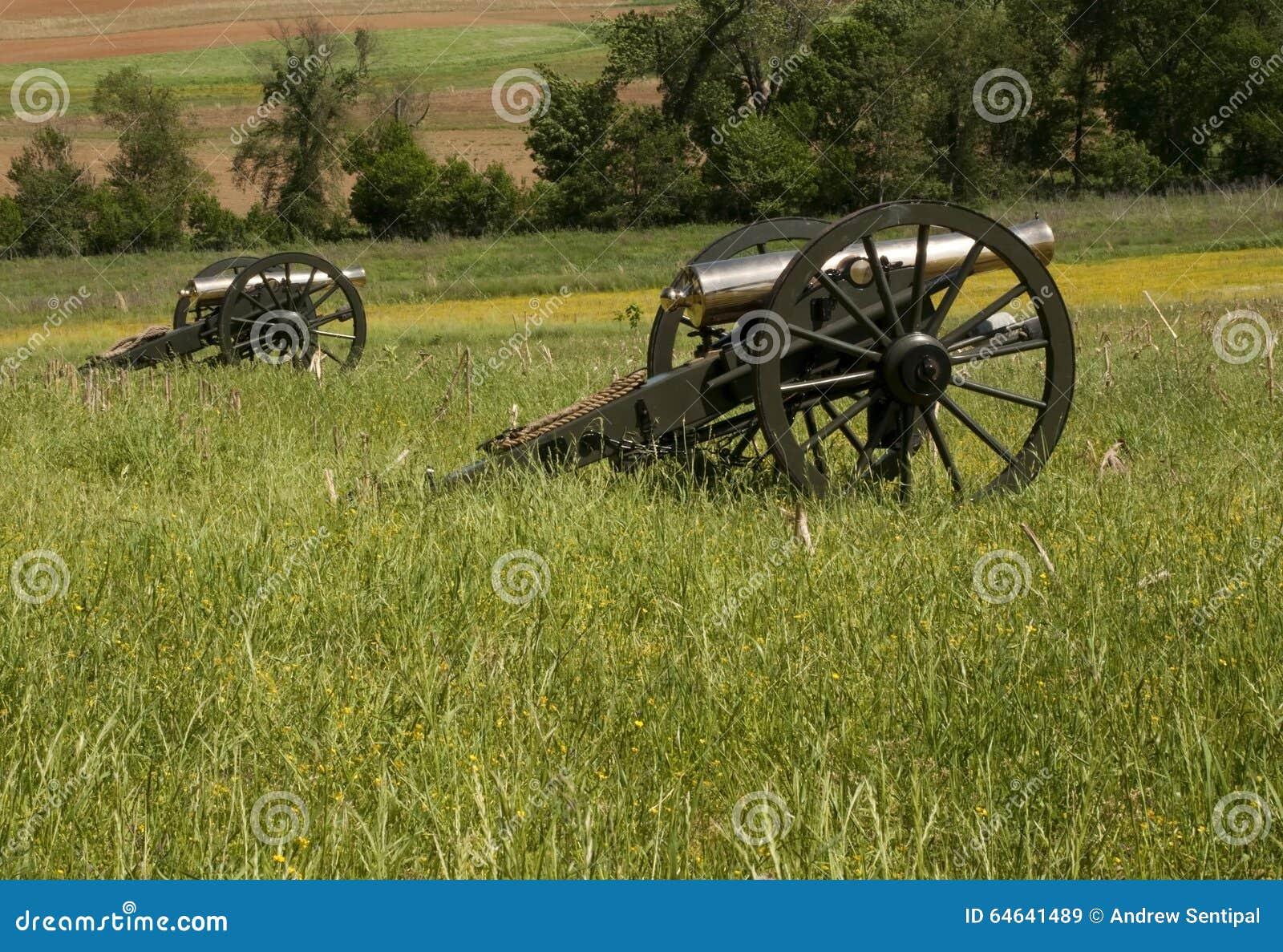 在领域的内战大炮