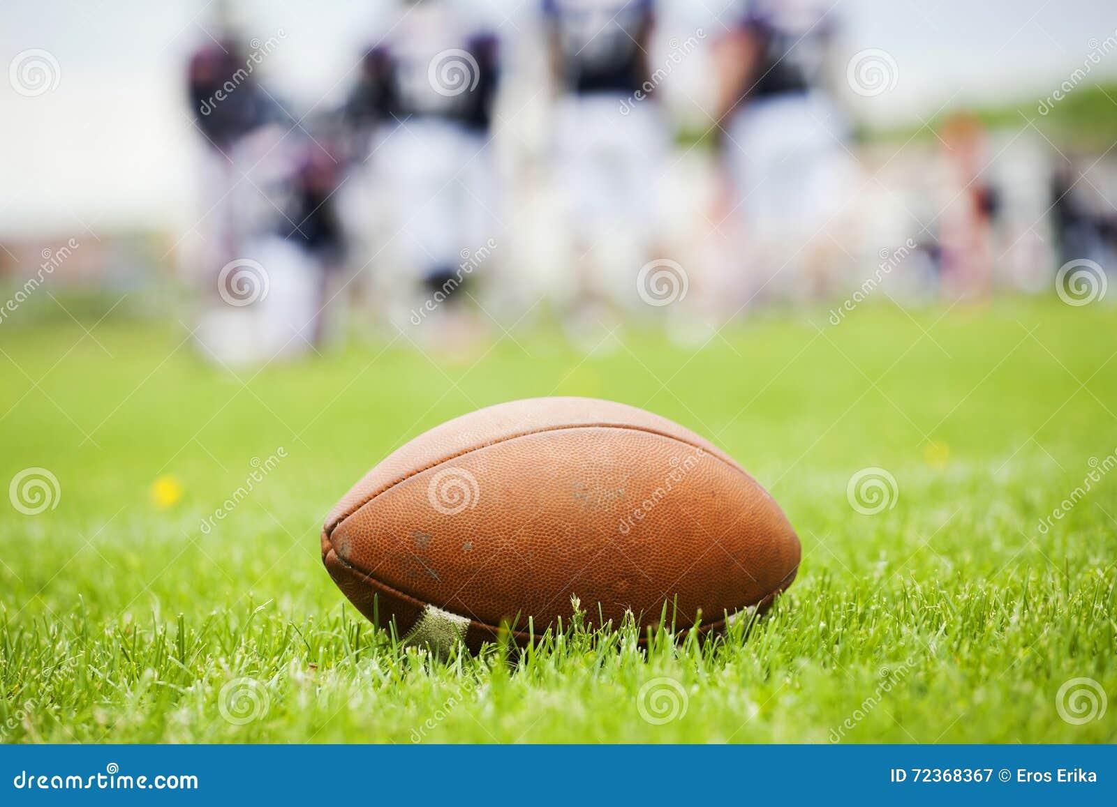 在领域的橄榄球球