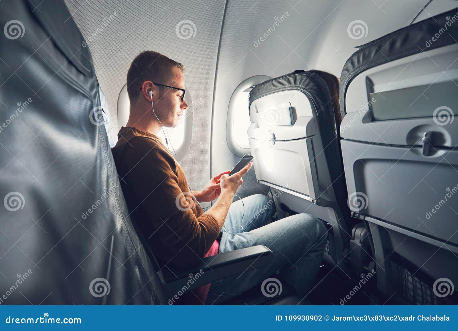 在飞机的连接