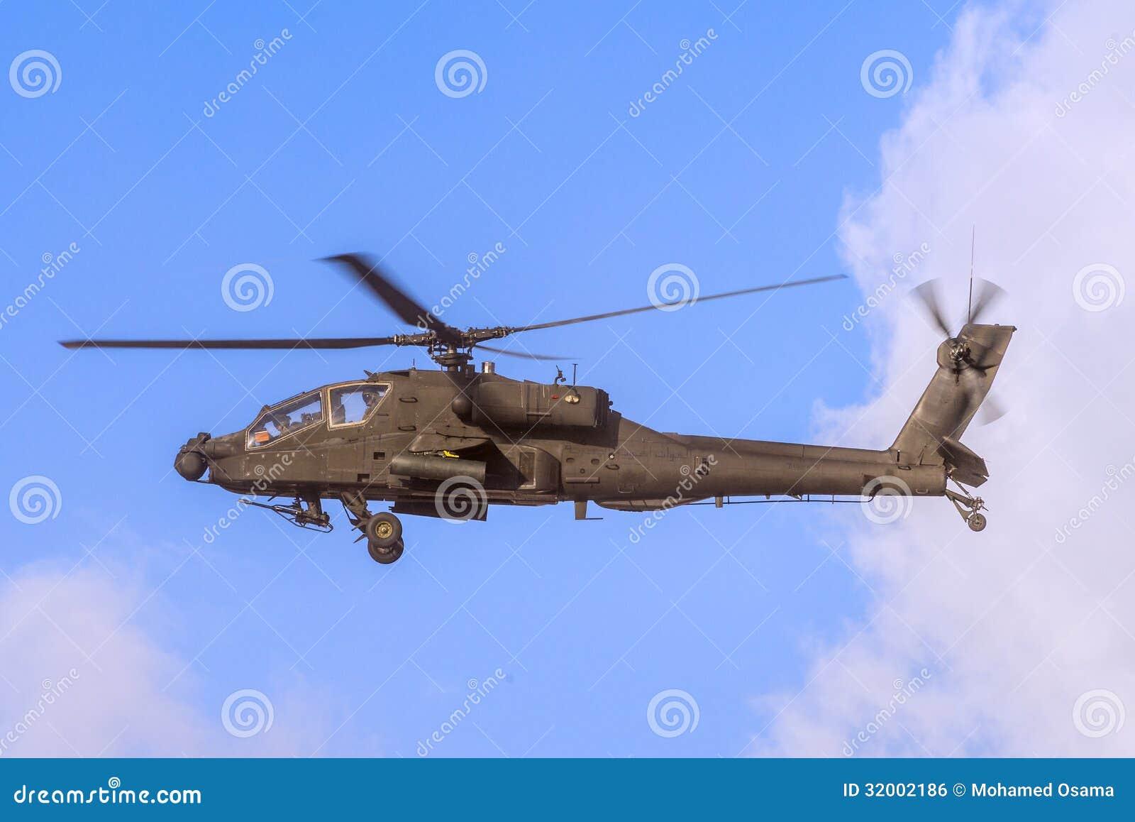 在飞行中亚帕基直升机