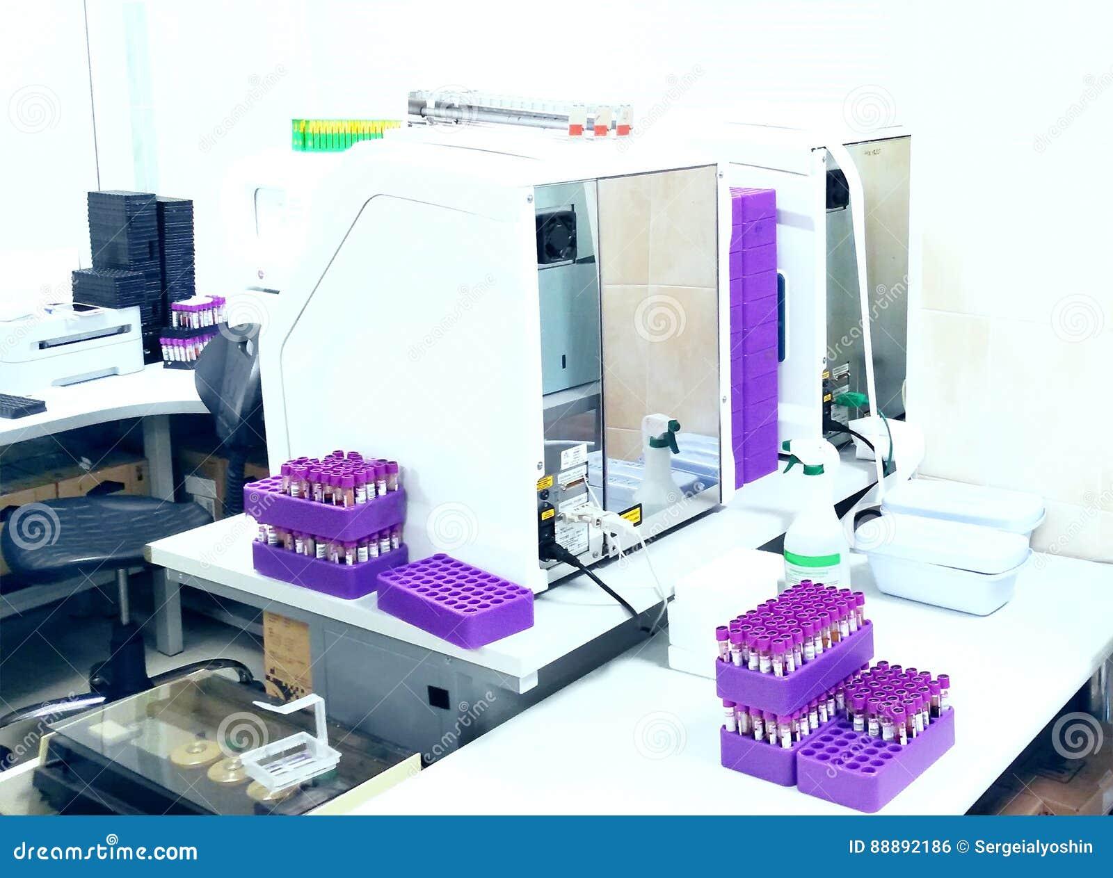 在医学实验室 医疗设备