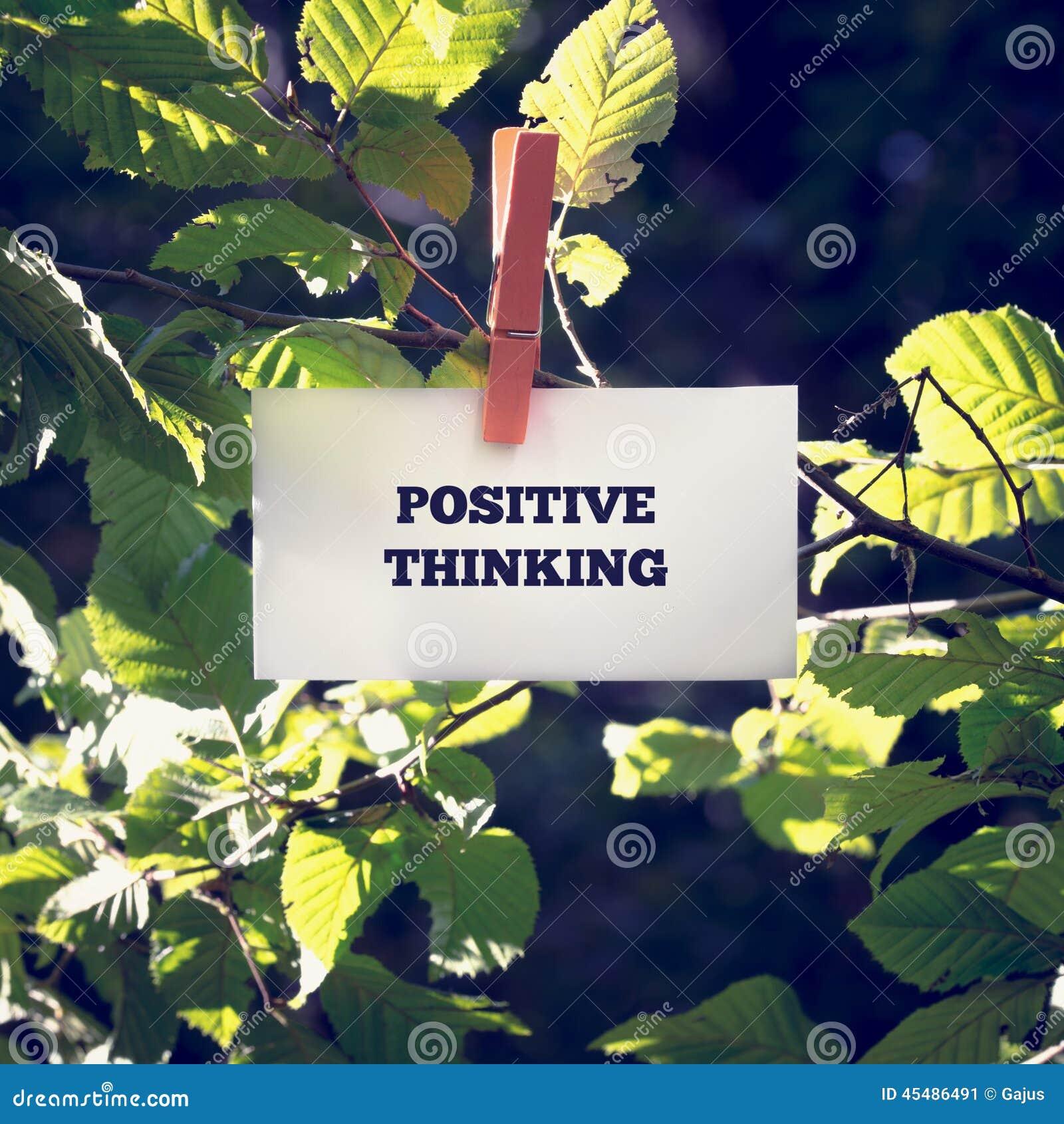在绿色植物截去的正面想法的消息