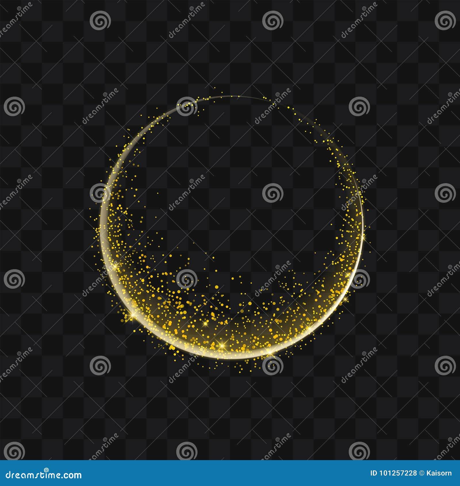 在b的金闪烁的足迹闪耀的stardust抽象微粒