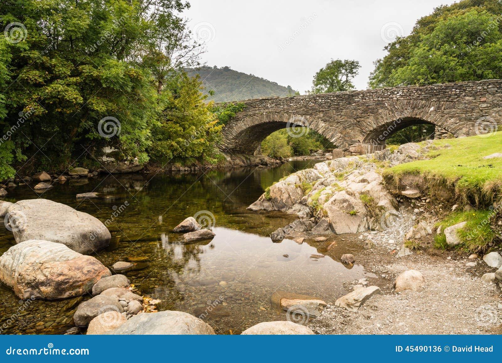 在Duddon谷的Ulpha桥梁