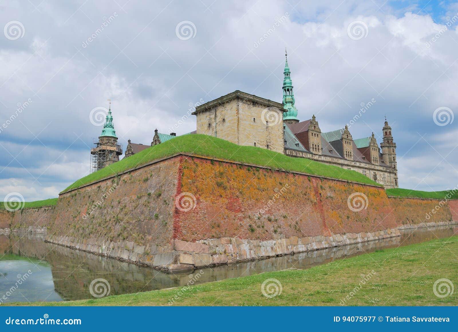 在Elsinore的城堡Kronborg